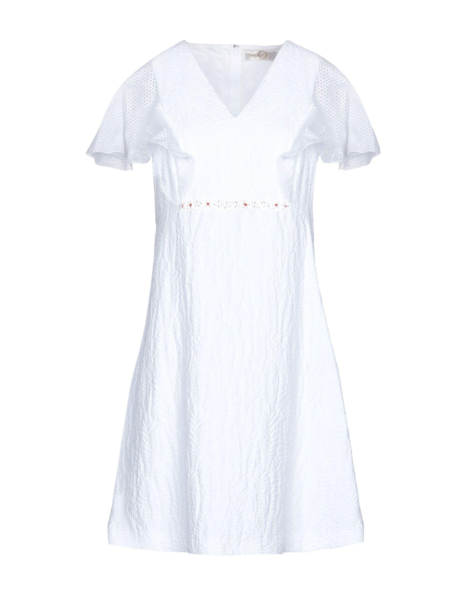 Mantu Short Dress In White Lyst