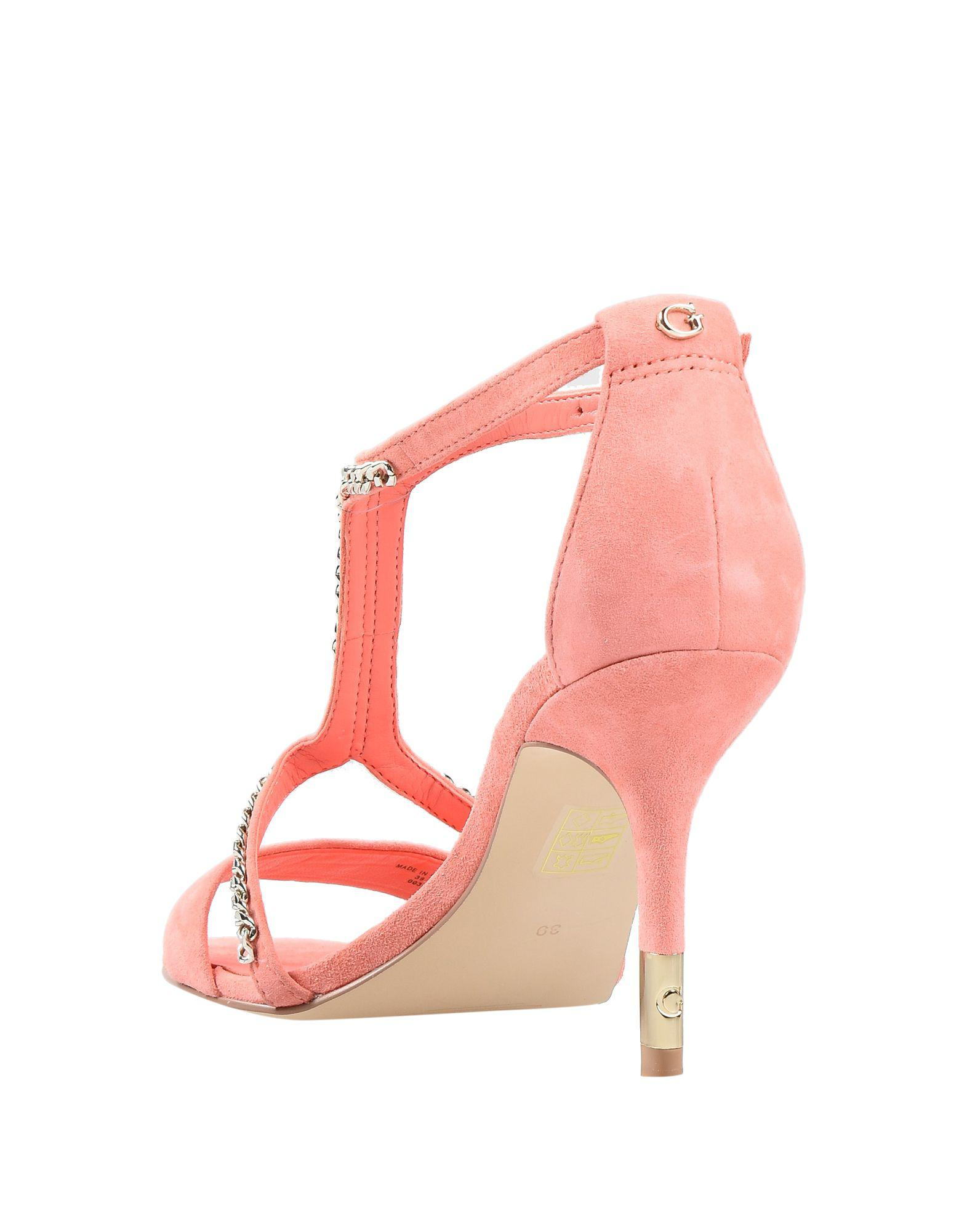 8fe59db761 Guess Sandals in Pink - Lyst