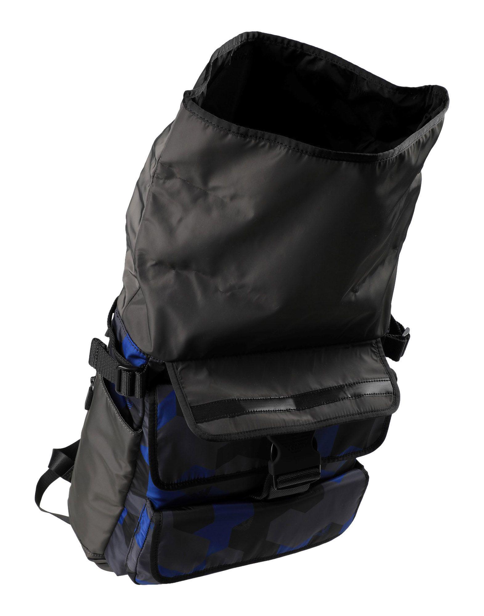 Lyst - Emporio Armani Backpacks   Bum Bags in Black for Men f9df038443872
