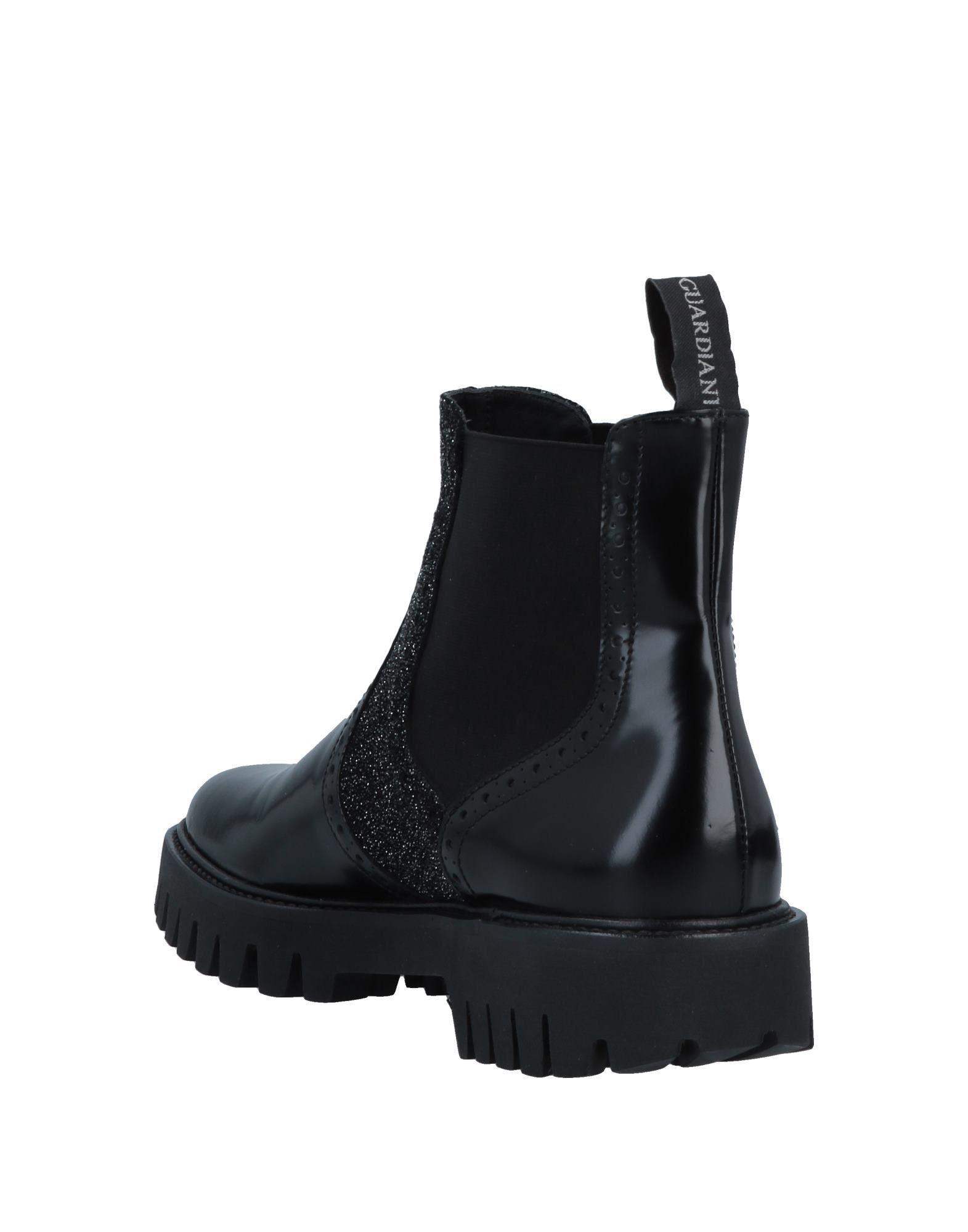 e0a56b8ecc159 Lyst - Alberto Guardiani Ankle Boots in Black