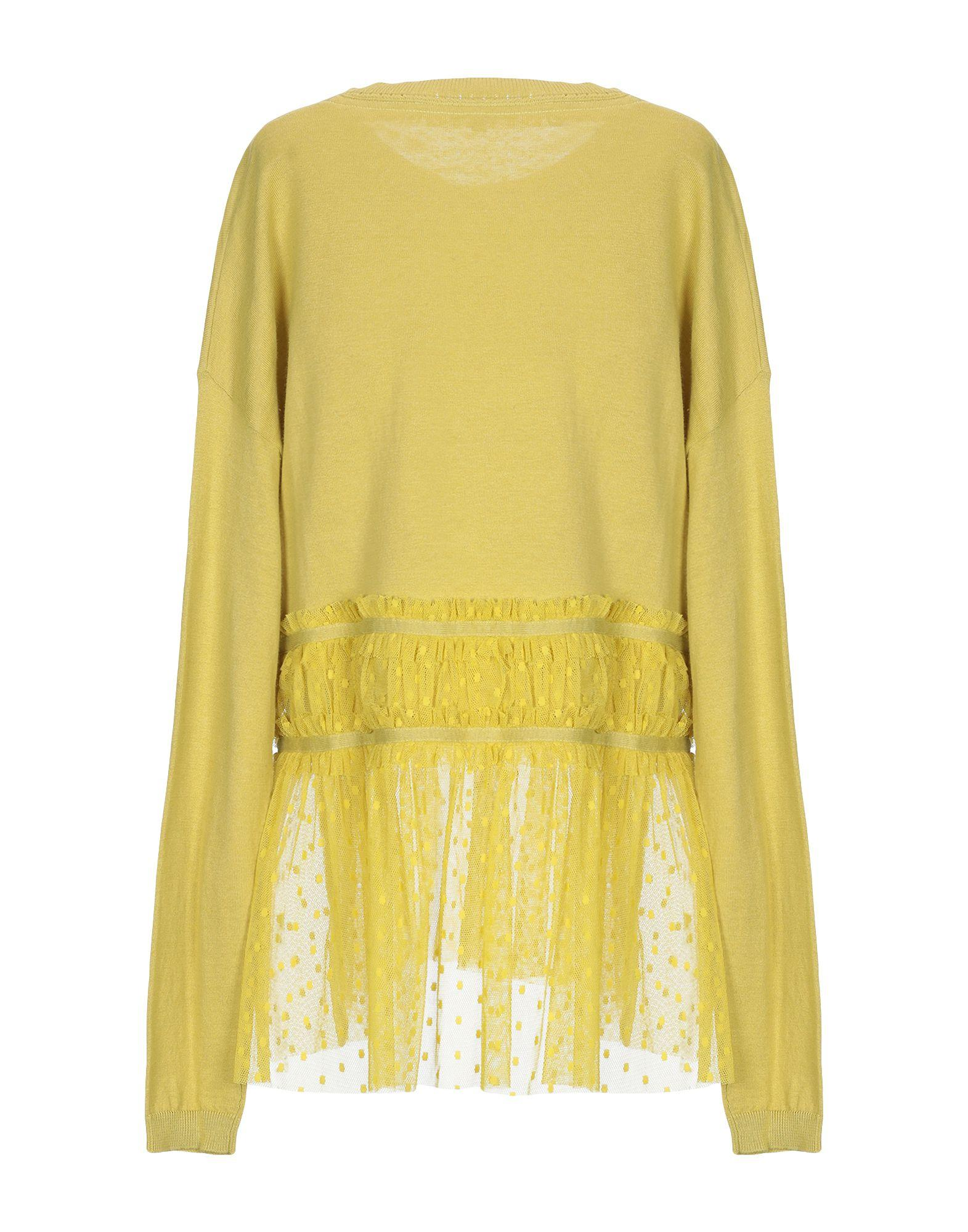 e8a65f7743 Patrizia Pepe Jumper in Yellow - Lyst
