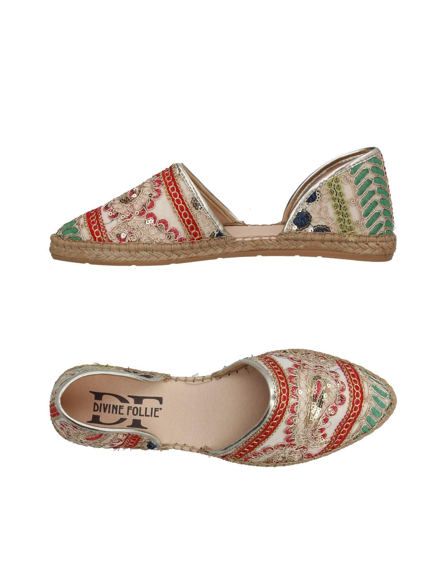 FOOTWEAR - Espadrilles Divine Follie Sale Excellent For Sale Cheap Real Sale Original Shop Offer Cheap Price Low Shipping Fee nXCAv
