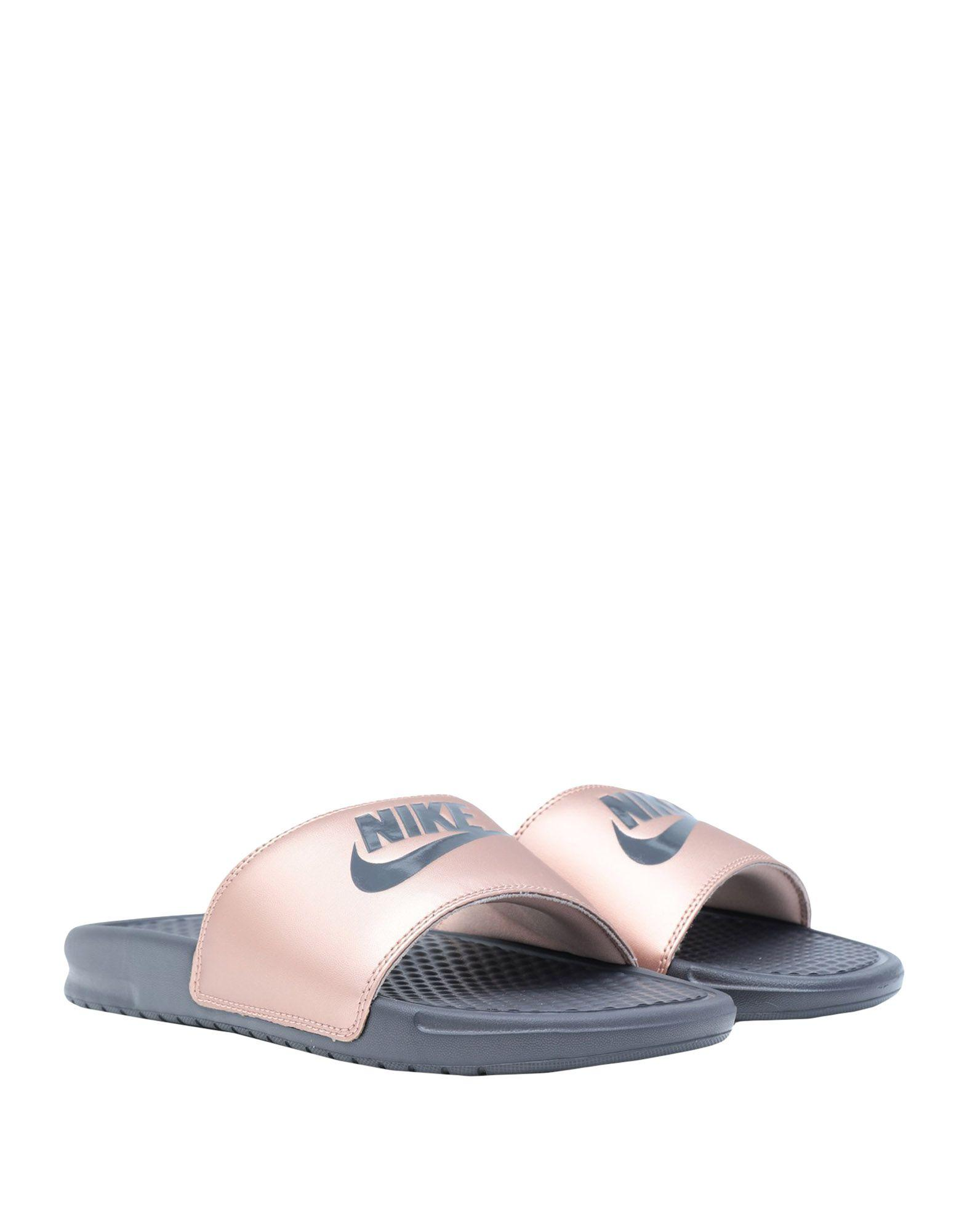400d44da7e33 Nike Sandals in Pink - Lyst