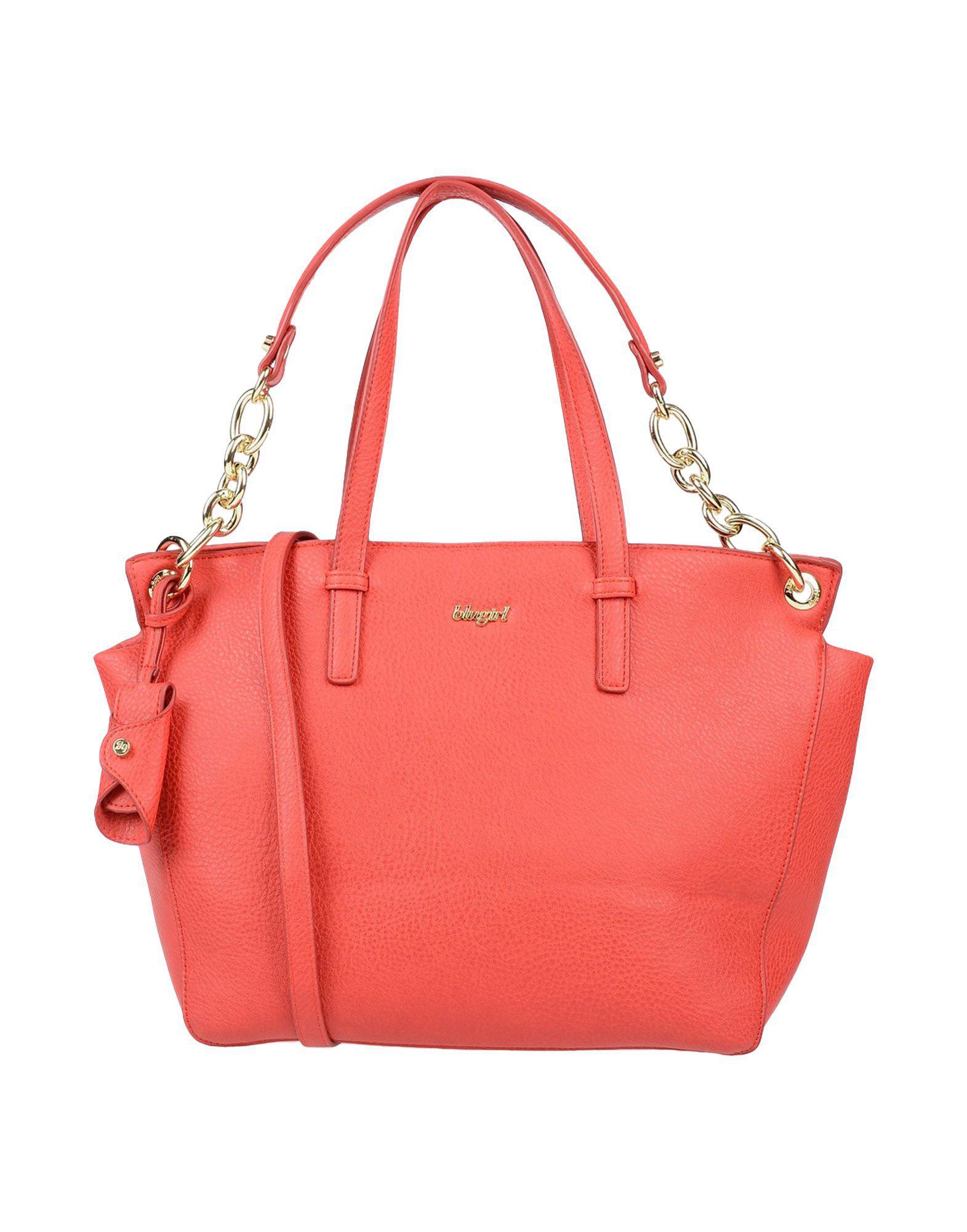 69fe40b7c718 Lyst - Blugirl Blumarine Handbag in Red