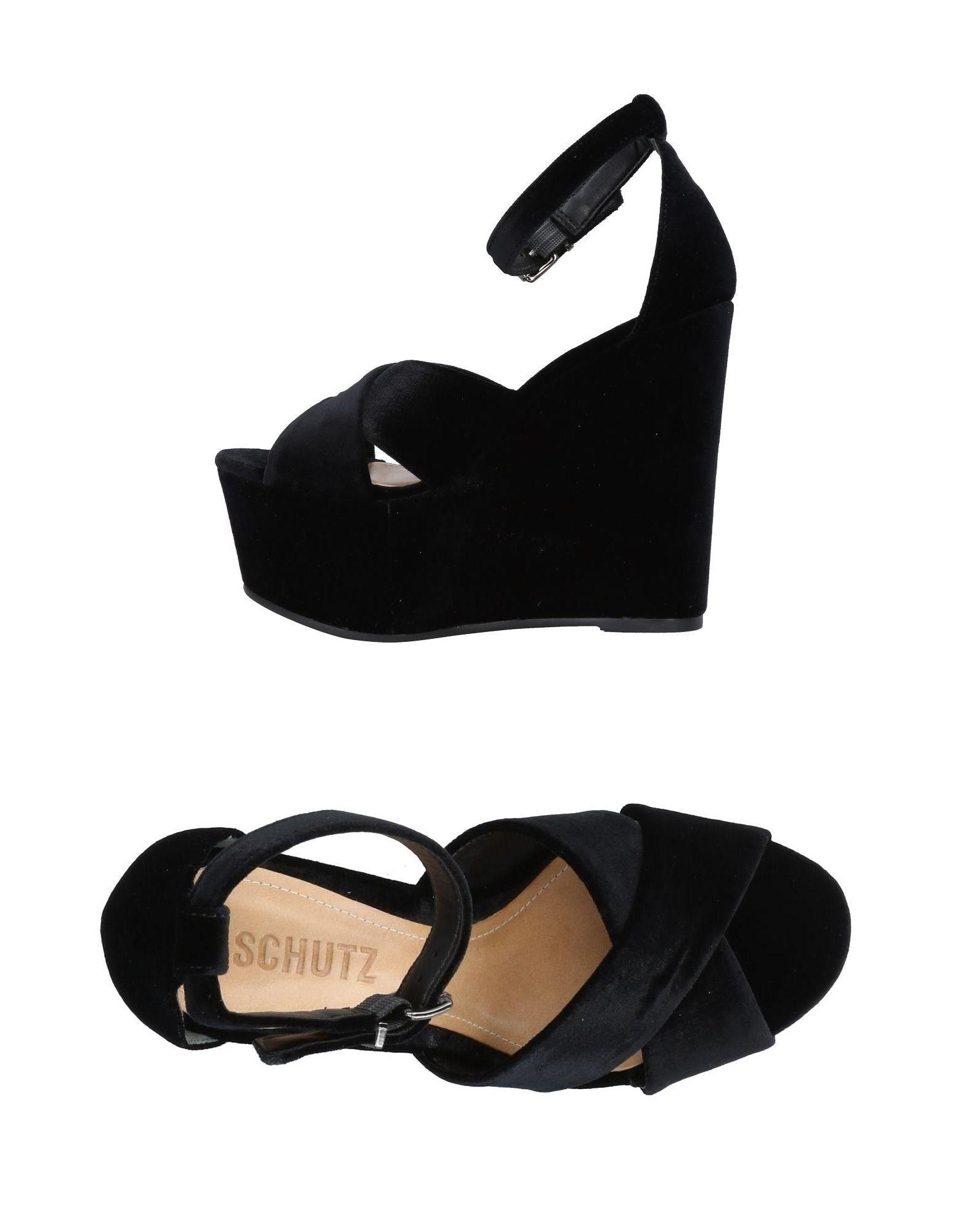 be46a47db153 Lyst - Schutz Sandals in Black