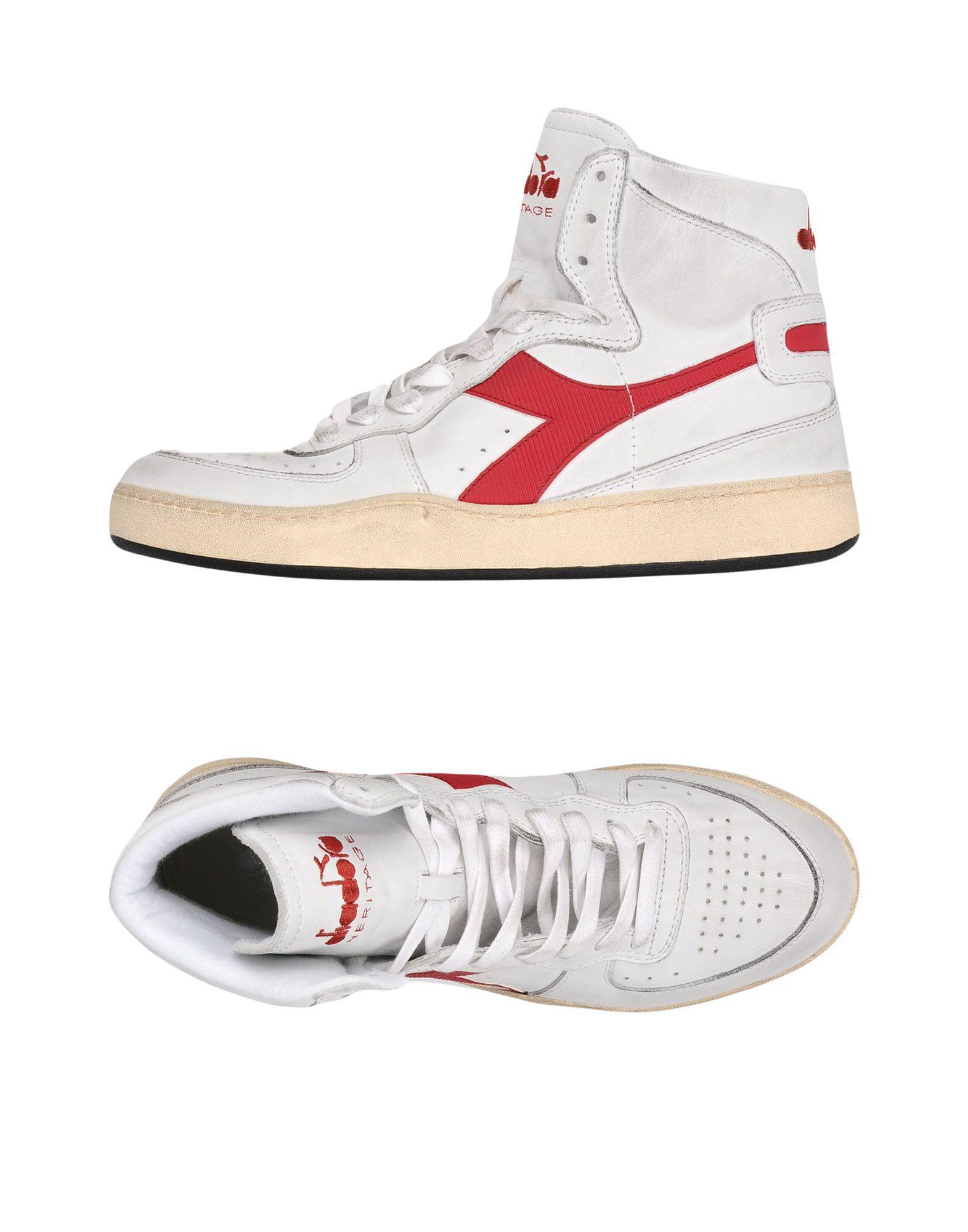 Coloris Tennis Sneakers En Lyst Homme Pour Diadora Montantes amp; 71xwqC