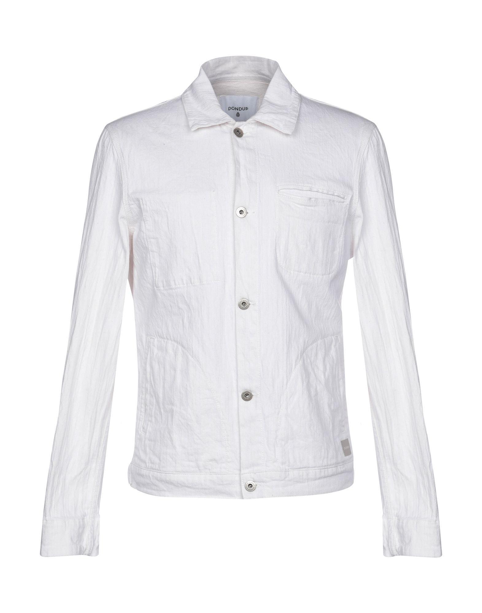 Dondup pour Lyst en Blanc coloris en Manteau jean homme q66zxtFvw