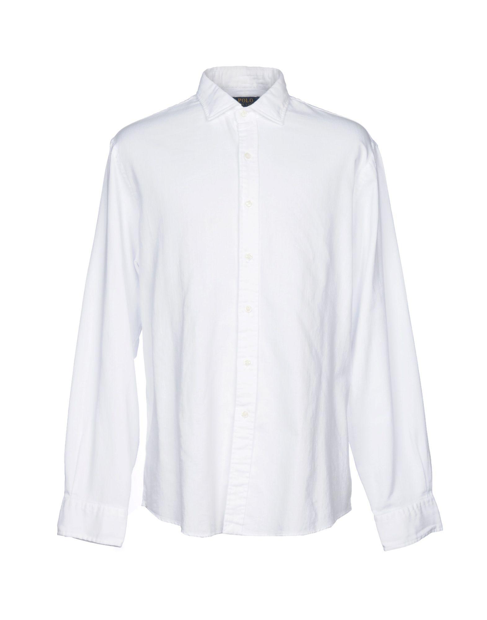 Coloris Blanc Polo Lauren Chemise Lyst 1 Pour Ralph Homme En Yby7f6g