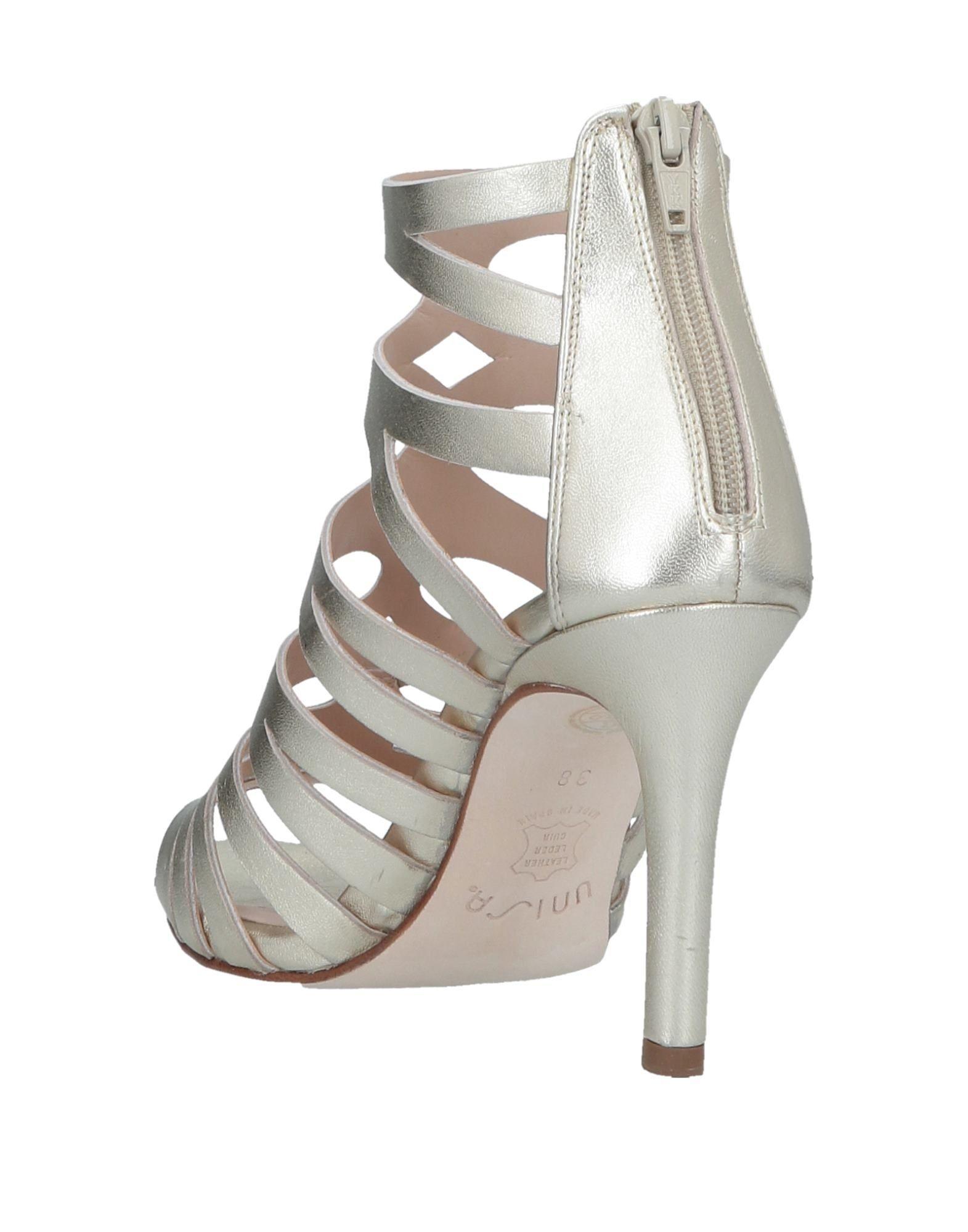 257a7581b Lyst - Unisa Sandals in Metallic