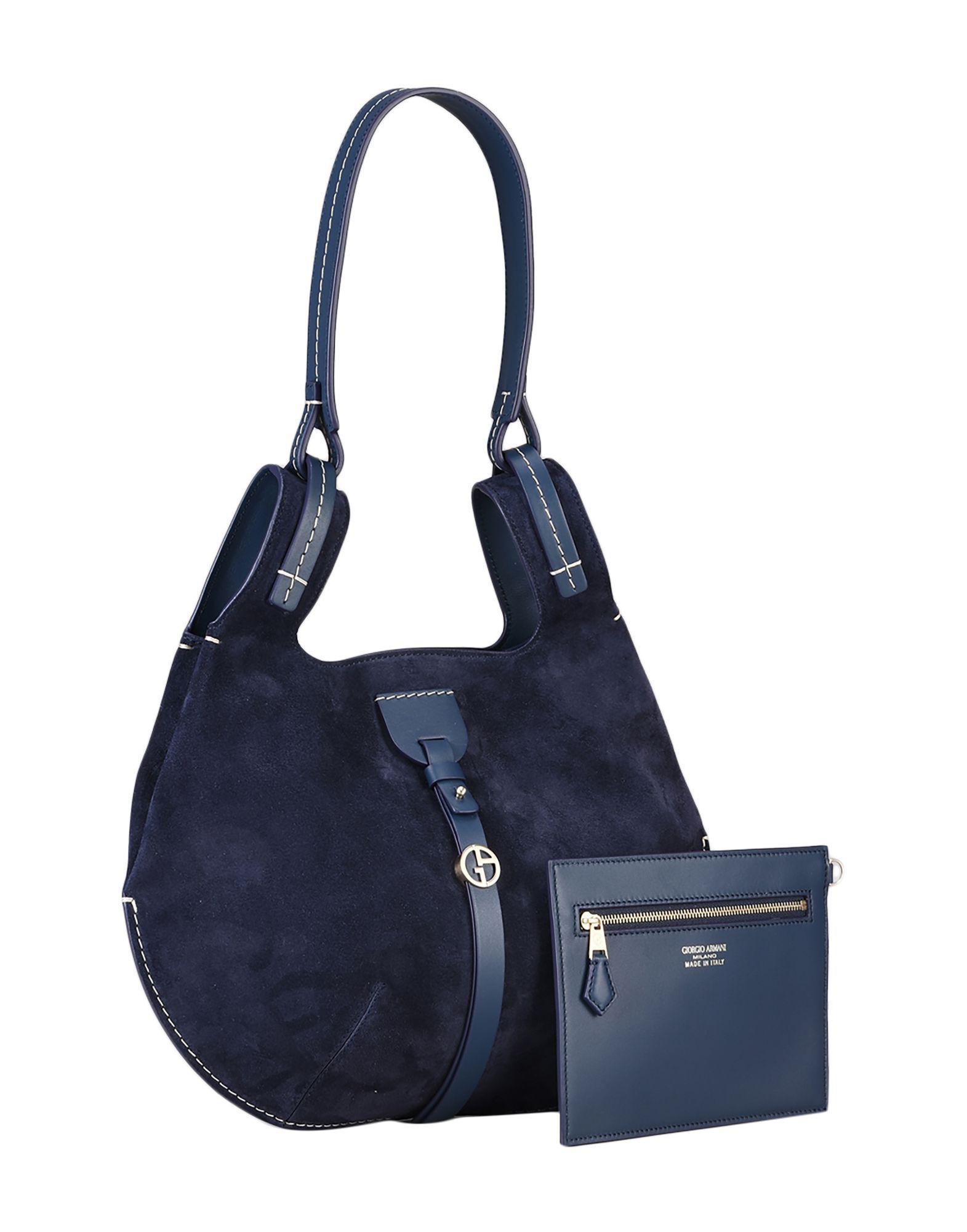 Giorgio Armani Handbag in Blue - Lyst dc5ff93206
