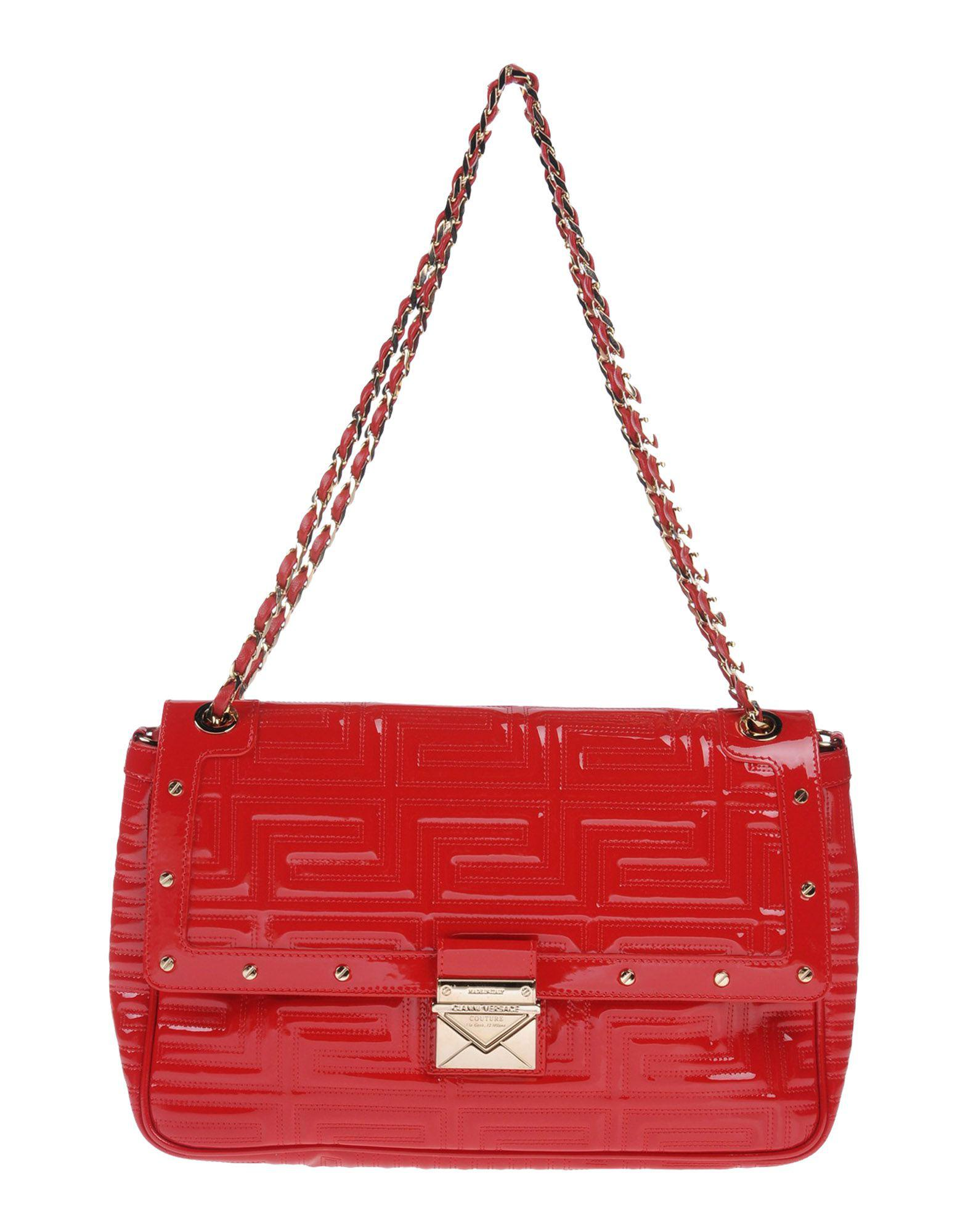 b89210b4dc Gianni Versace Couture Shoulder Bag in Red - Lyst