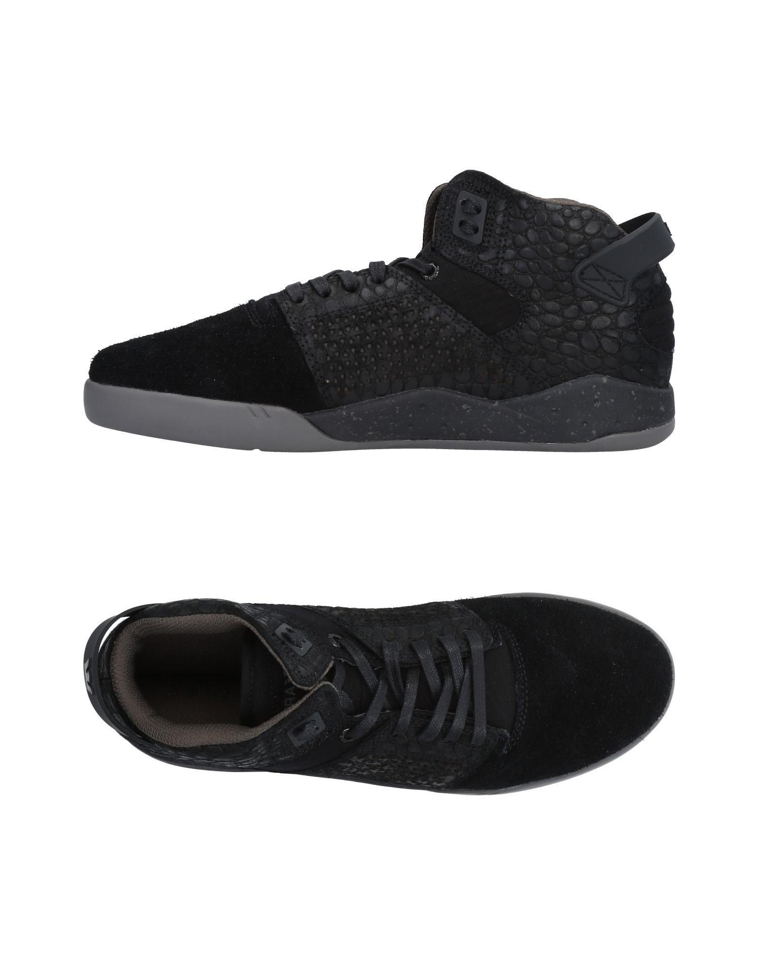 d057a6a683a2 Supra High-tops   Sneakers in Black for Men - Lyst