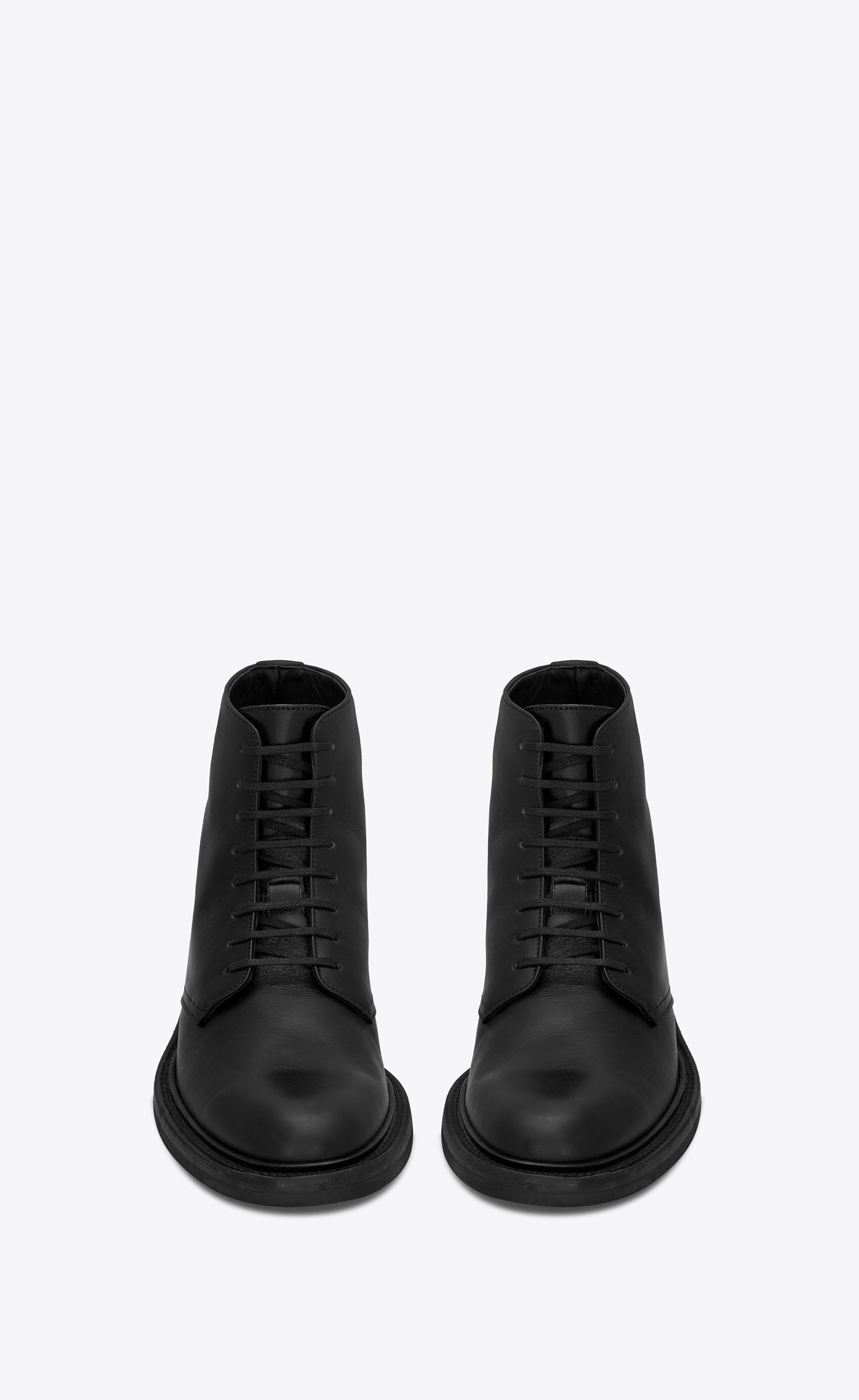 1bec07b8fa3 Saint Laurent - Black Army Boots - Lyst. View fullscreen