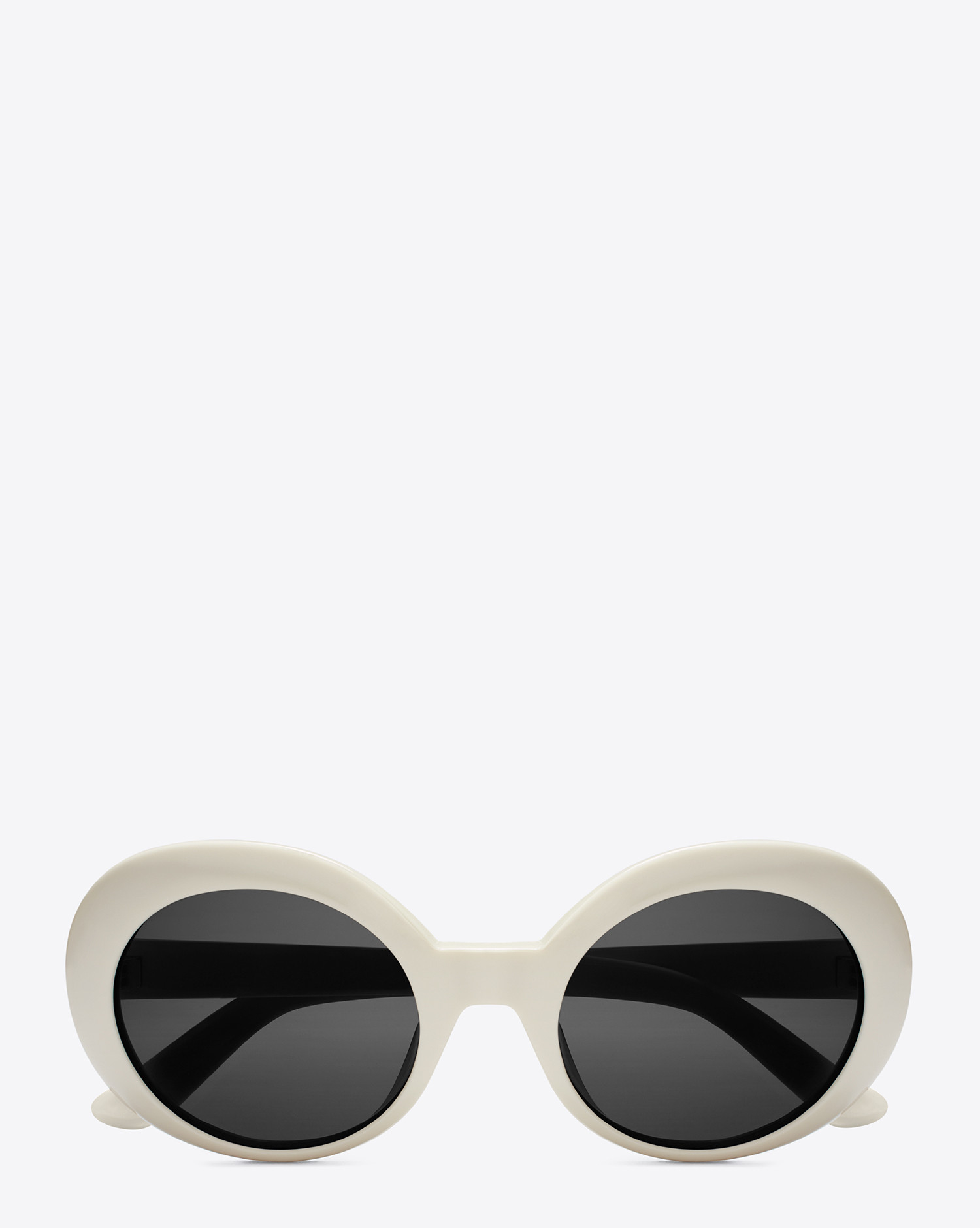 75901f324373 Saint Laurent New Wave 98 California Sunglasses In Shiny Ivory ...