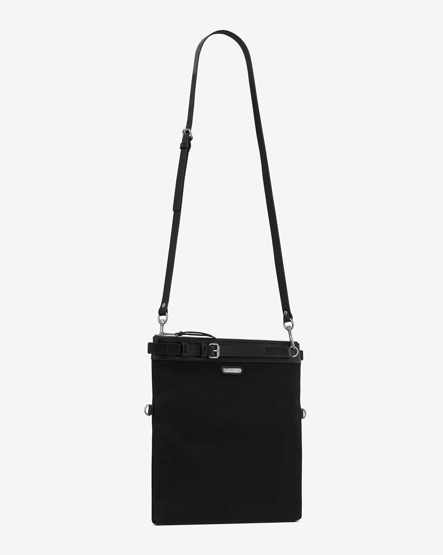 d3585b6195da Lyst - Saint Laurent Messenger And Crossbody in Black for Men