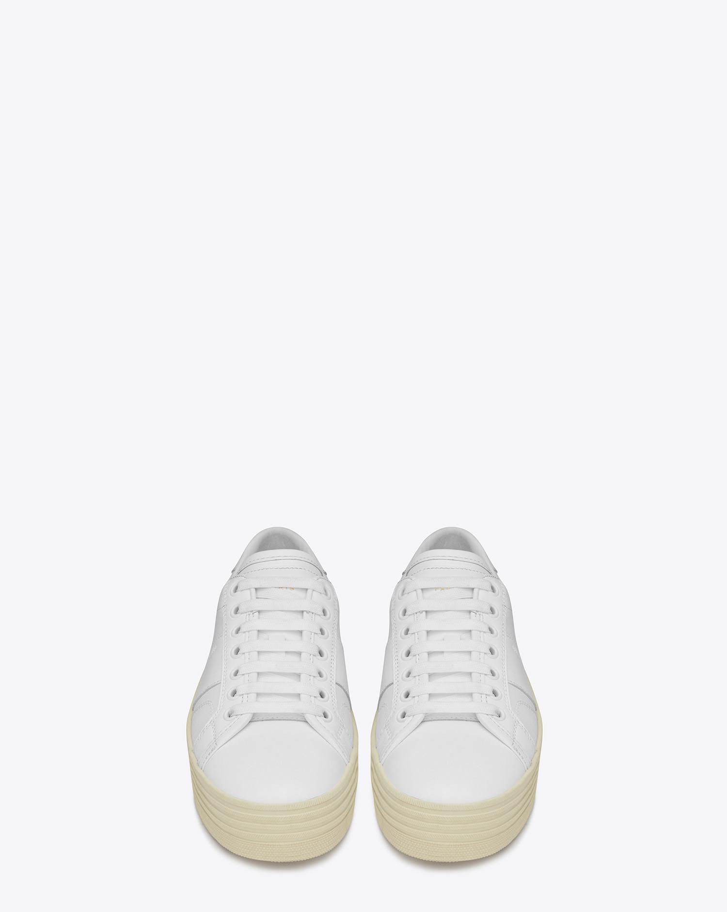 8207c707fa0 Lyst - Saint Laurent Signature Court Classic Sl 39 Platform Sneaker ...