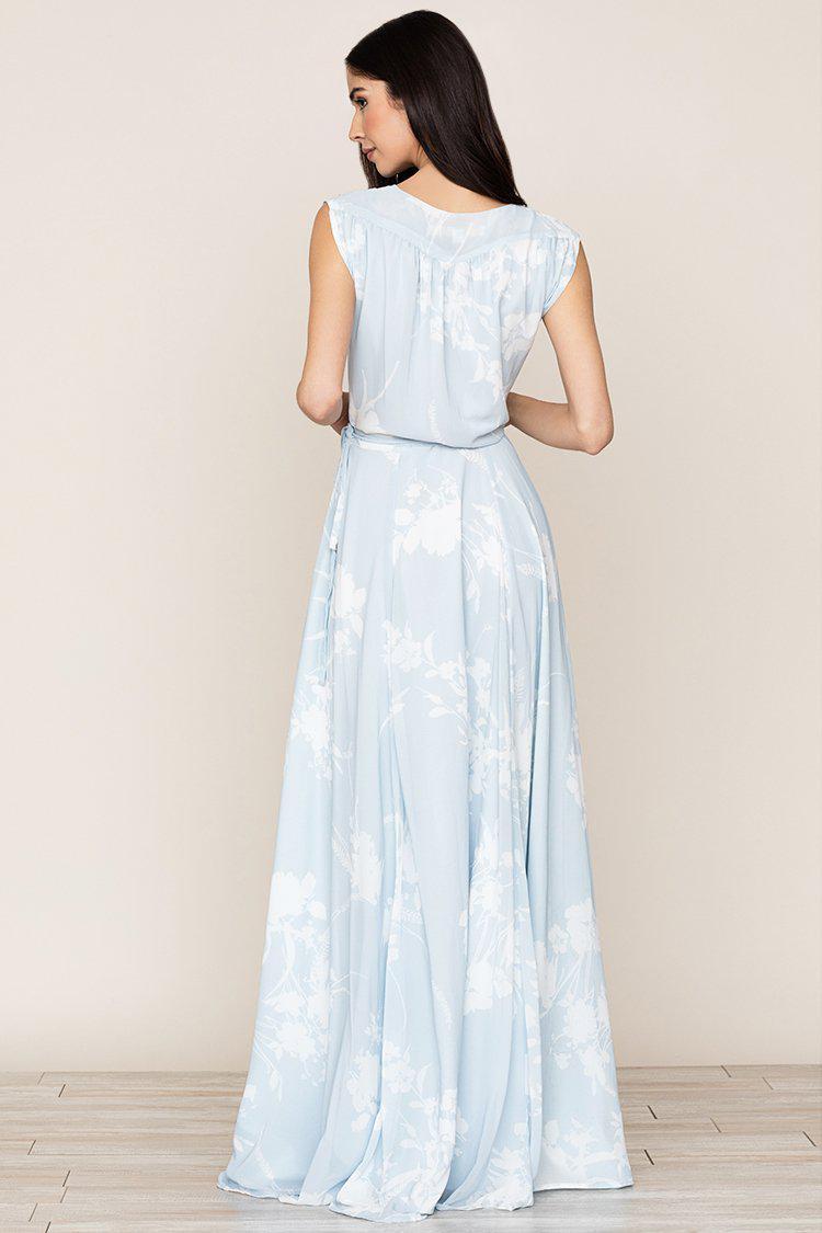 0b33d1bb09b3 Yumi Kim Sashay Away Maxi Dress in Blue - Lyst
