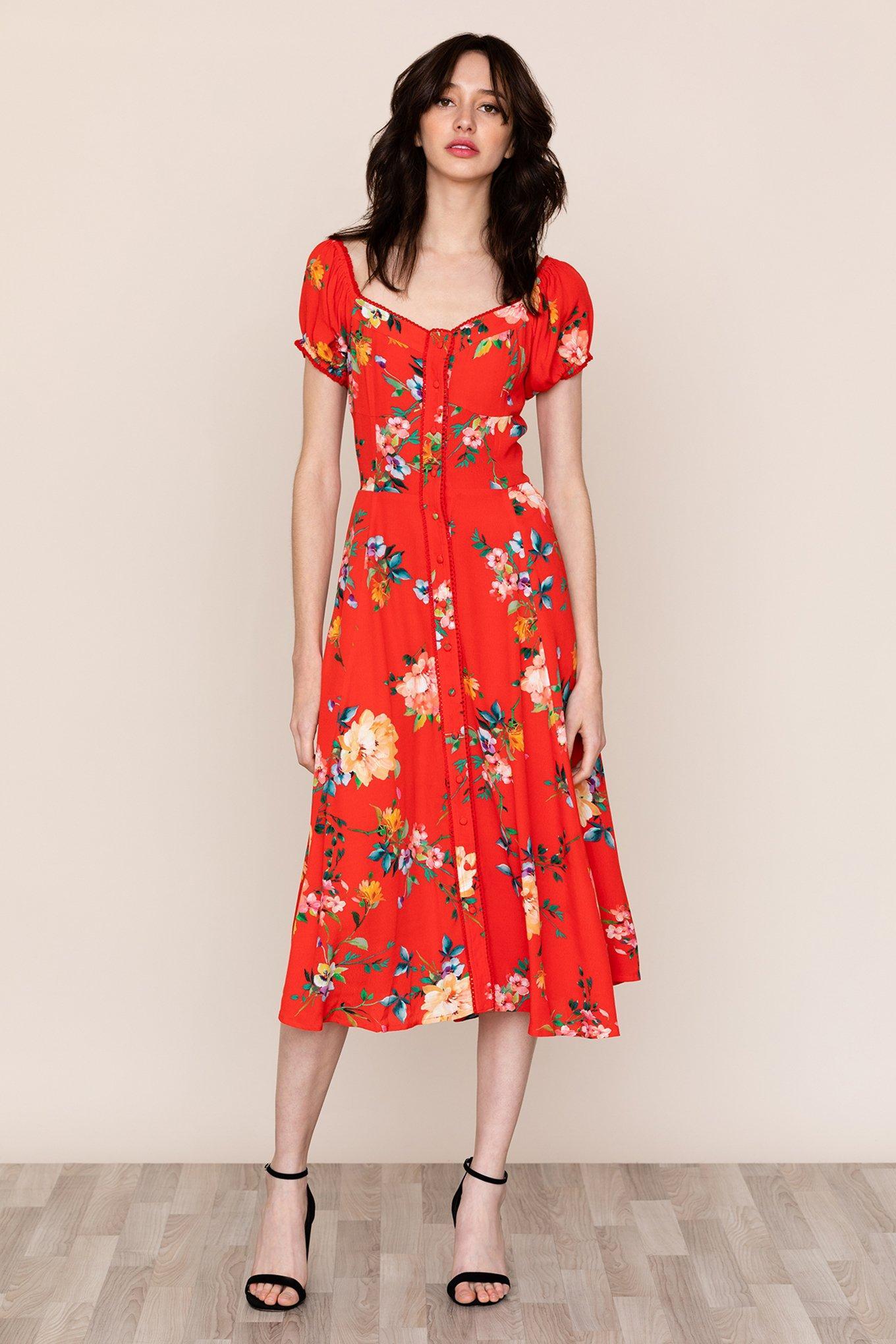 5be0ee6ea123 Yumi Kim Mercer Street Dress in Red - Lyst