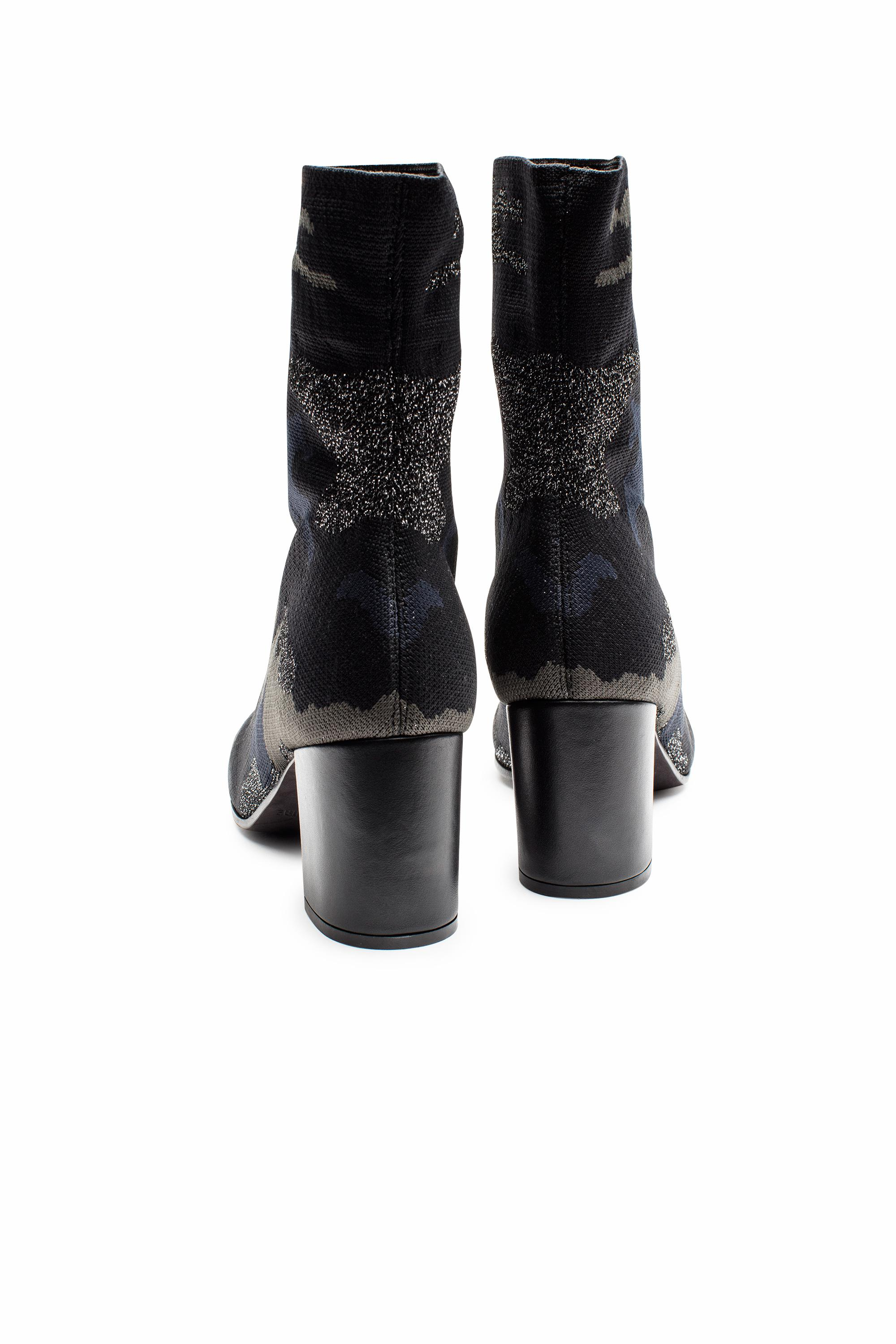 Lyst Zadig Voltaire Lena Camo Boots In Black