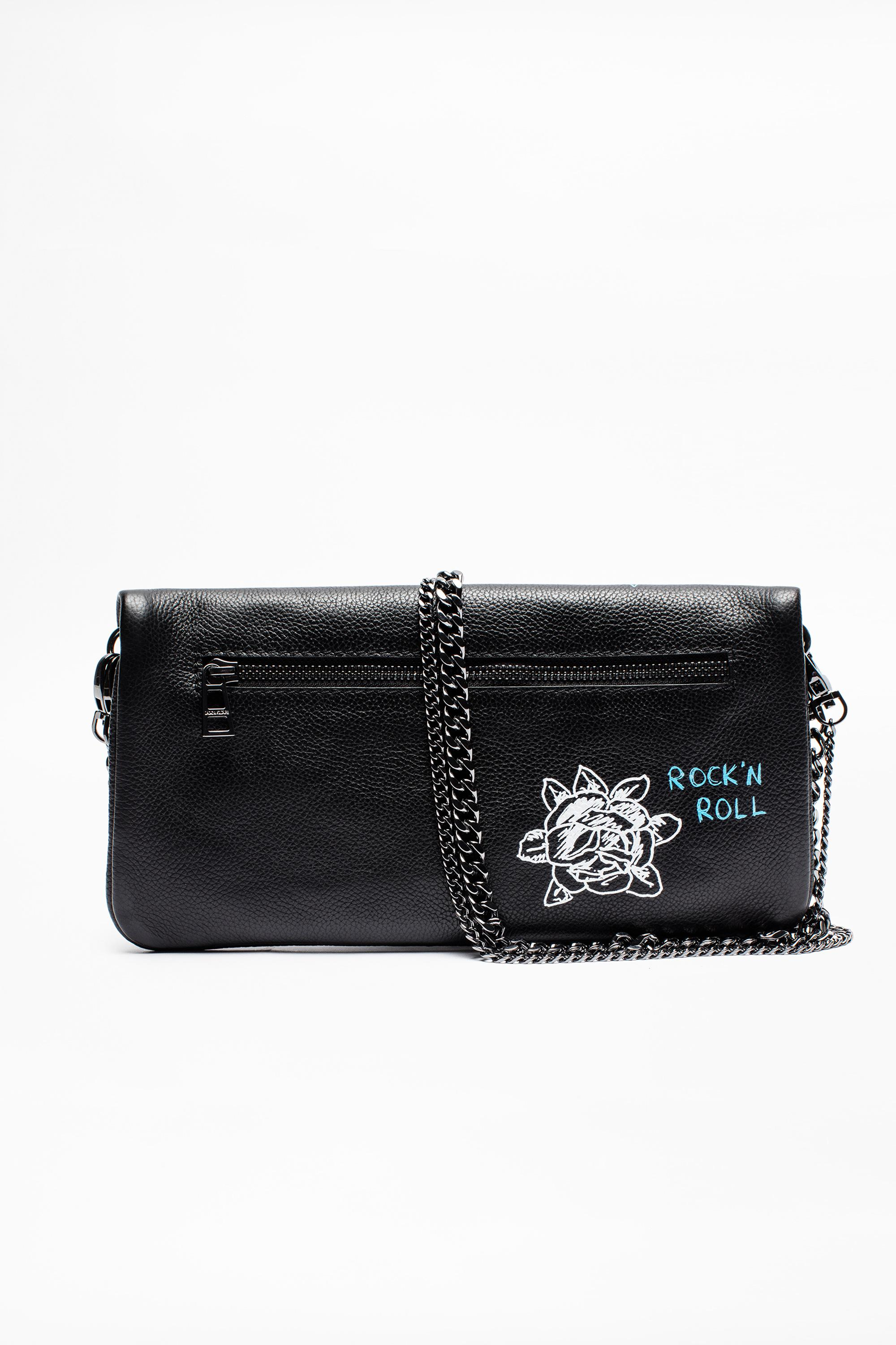 e72eef88ab35 Lyst - Zadig   Voltaire Rock Tag Bag in Black
