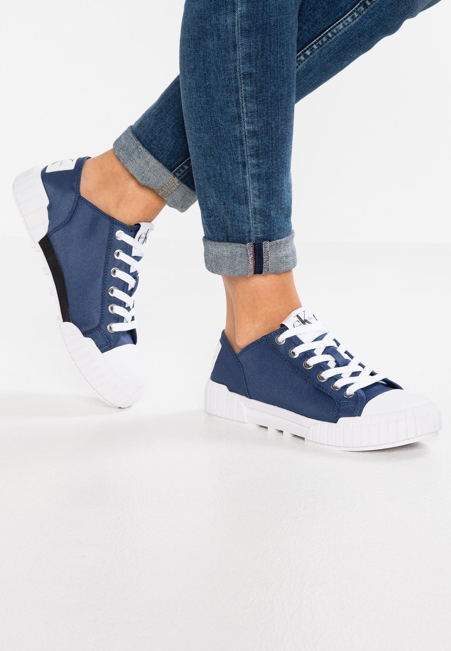 Calvin Klein Jeans BIANCA - Trainers - white j7xyDh
