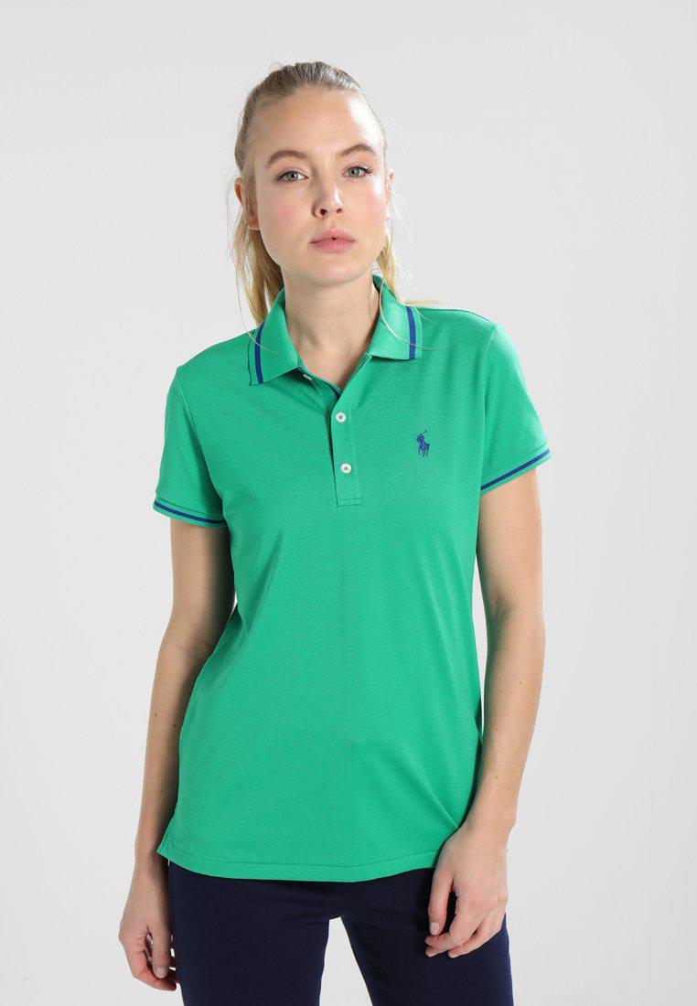 Lyst Ralph Lauren Golf Performance Polo Shirt In Green