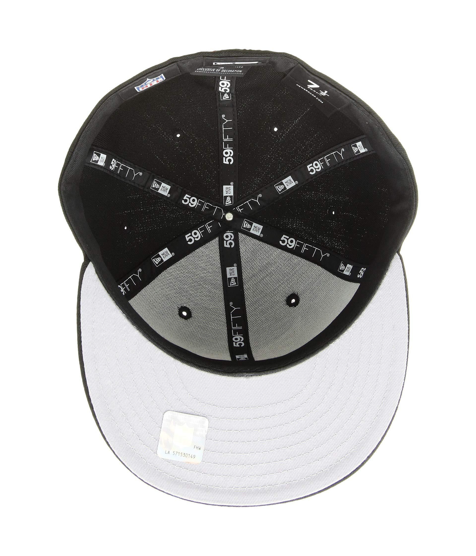 new product 9c562 d570e Lyst - KTZ 59fifty Arizona Cardinals (black) Baseball Caps in Black for Men