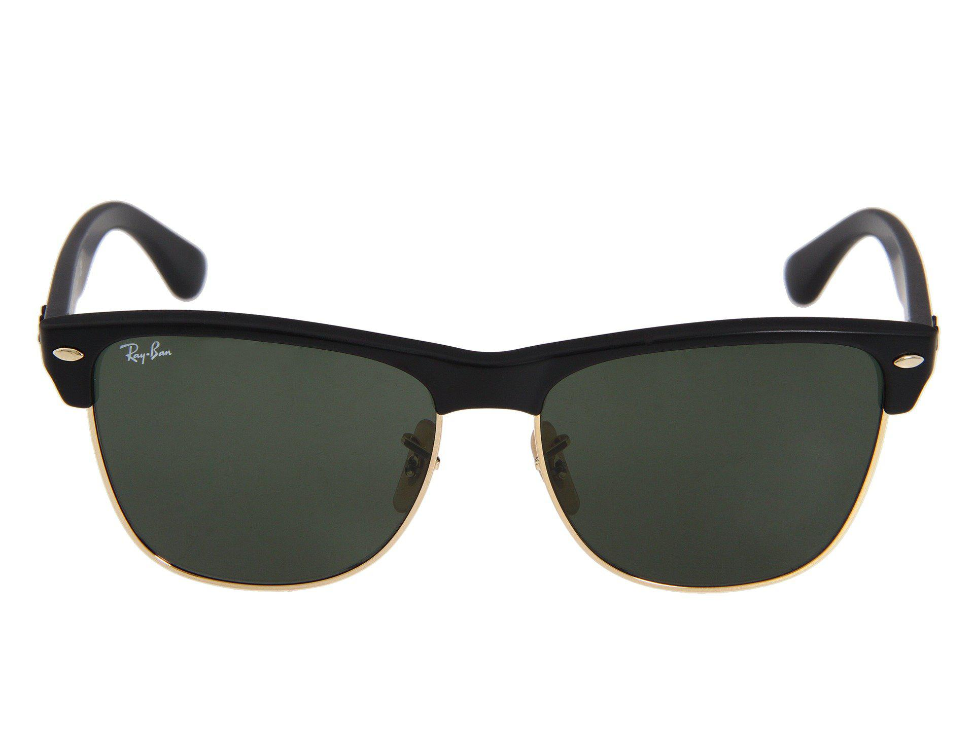 3d11496cc9b Lyst - Ray-Ban Rb4175 Oversized Clubmaster 57mm (black grey Gradient ...