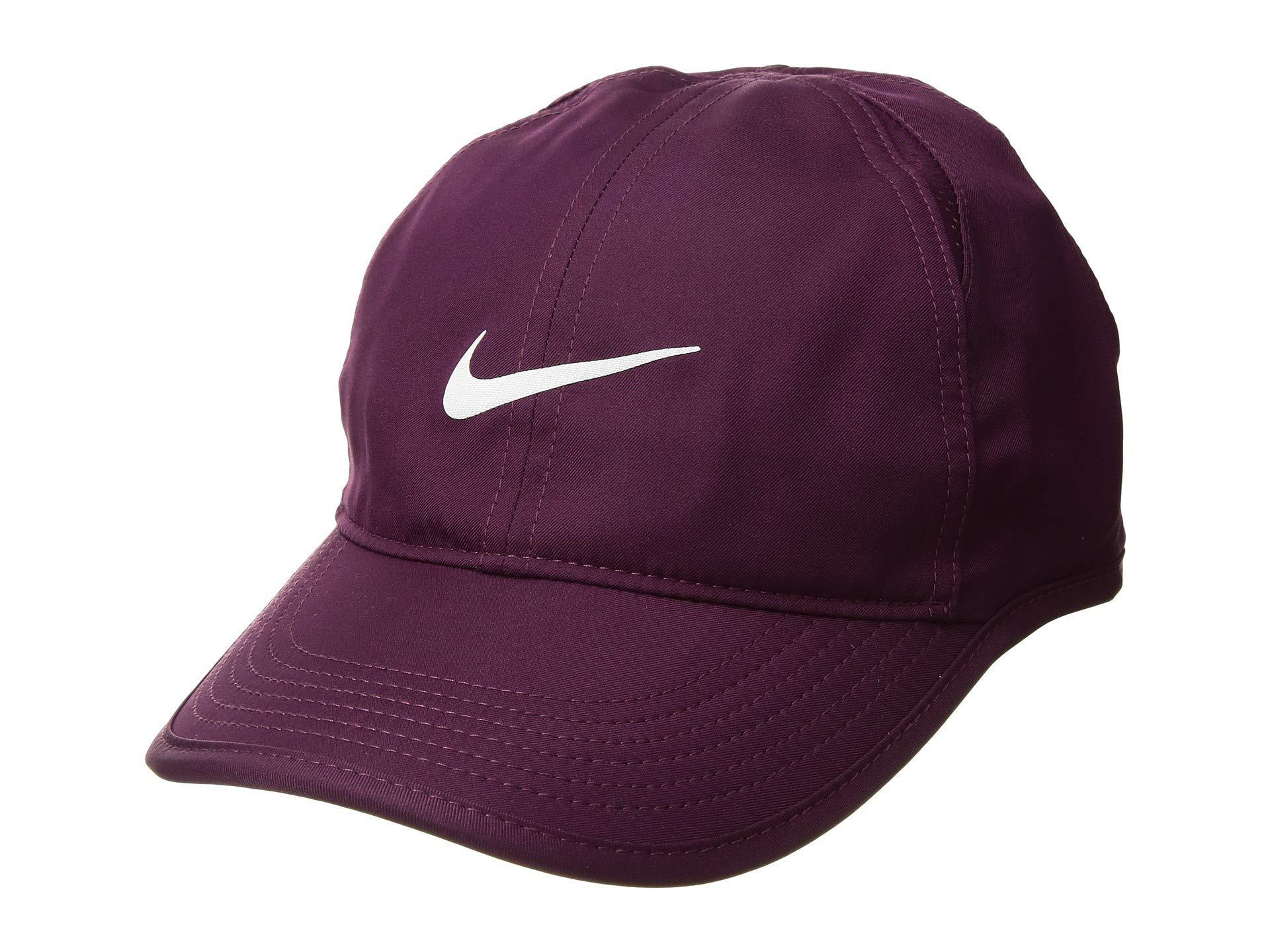Lyst - Nike Featherlight Cap - Women s (atmosphere Grey black white ... cab051569