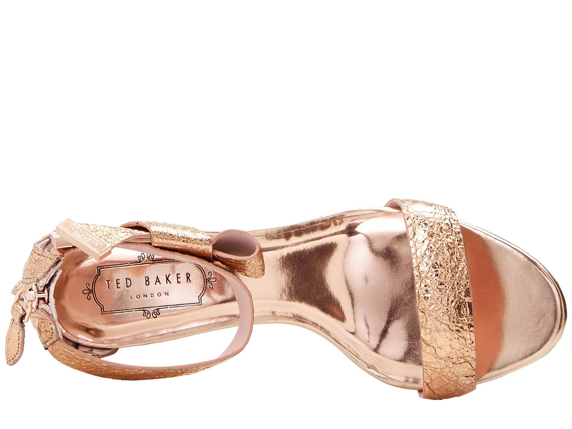 Rose gold shoes zappos