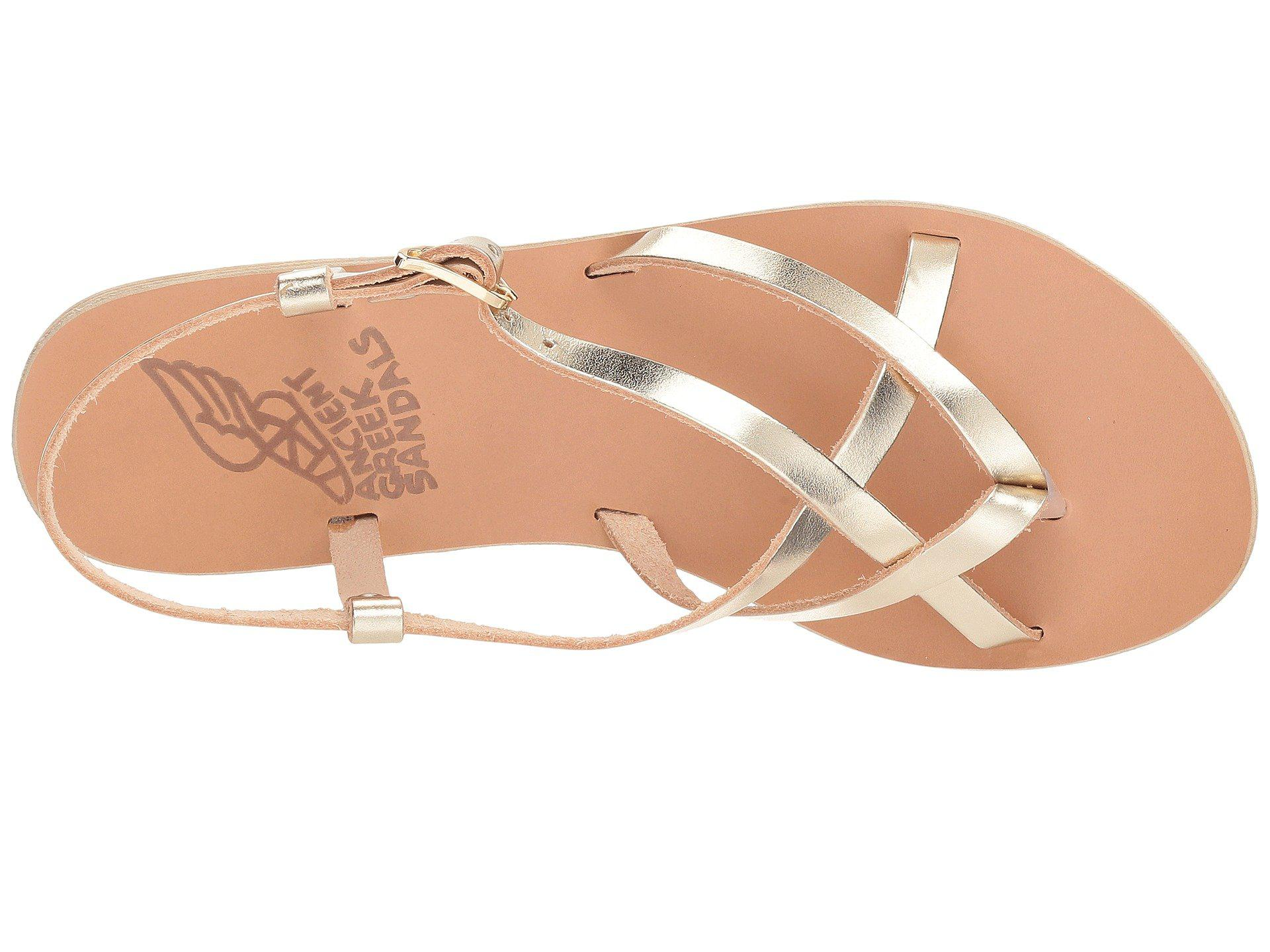 1213dc472 Ancient Greek Sandals - Multicolor Semele (platinum Vachetta) Women's  Sandals - Lyst. View fullscreen