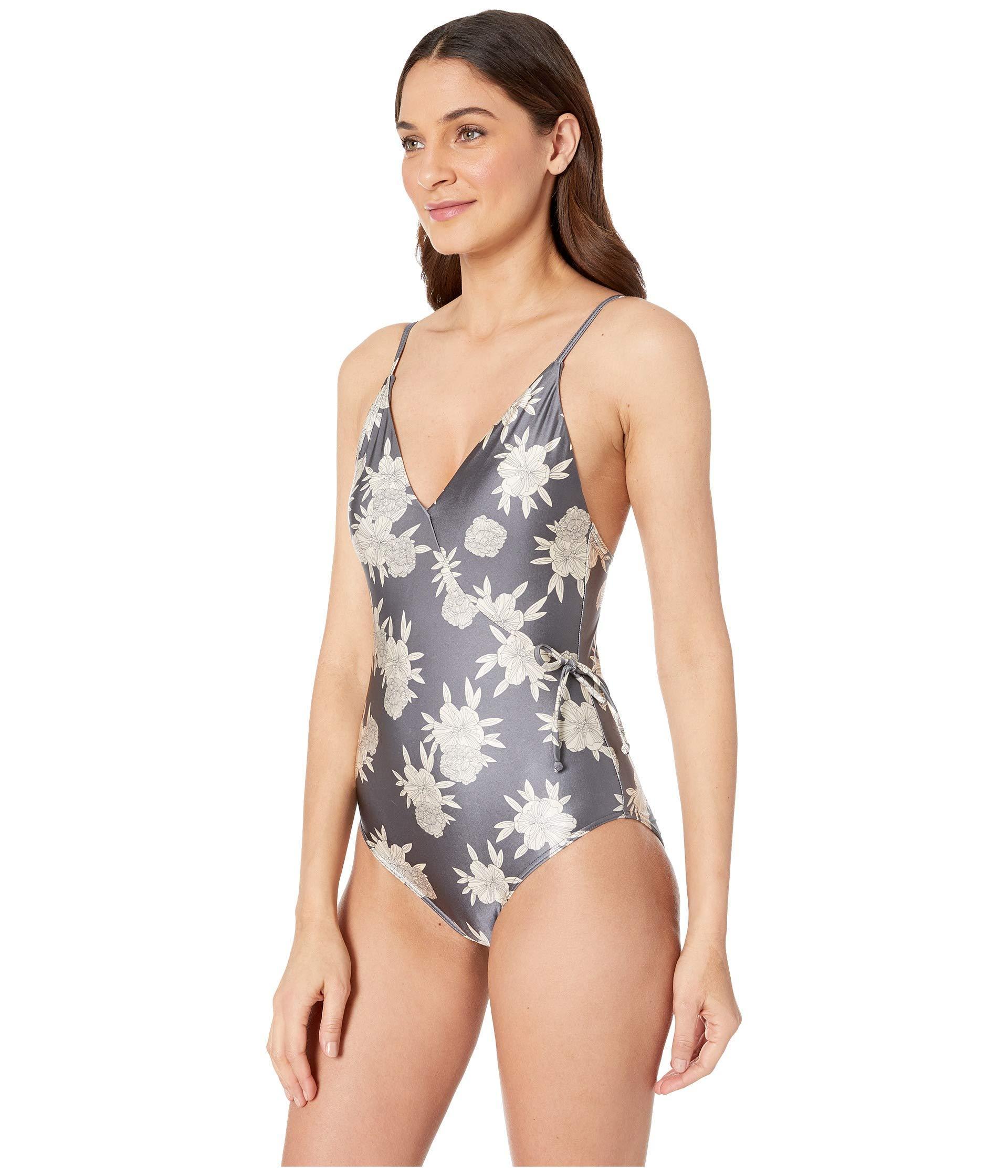 1e5f08f1b5 Lyst - Roxy Romantic Senses One-piece Swimsuit (medieval Blue Macy Stripe  Swim) Women s Swimsuits One Piece in Blue