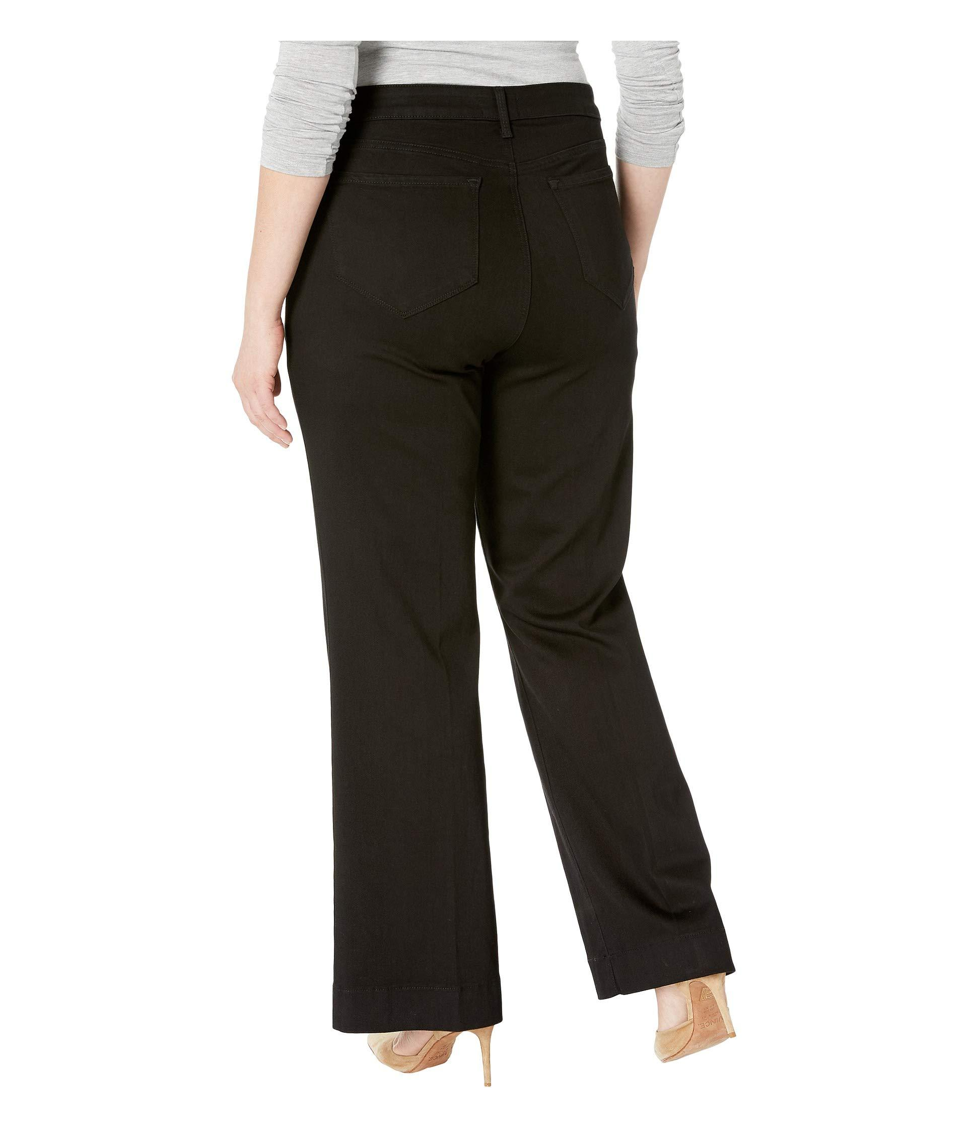4e972e8d6efdb NYDJ - Plus Size Teresa Trousers In Black (black) Women s Jeans - Lyst.  View fullscreen