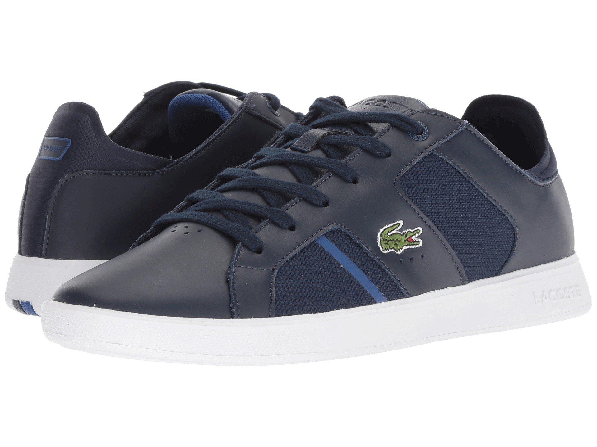 7f7e9fcf6 Lyst - Lacoste Novas 318 2 (black grey) Men s Shoes in Blue for Men