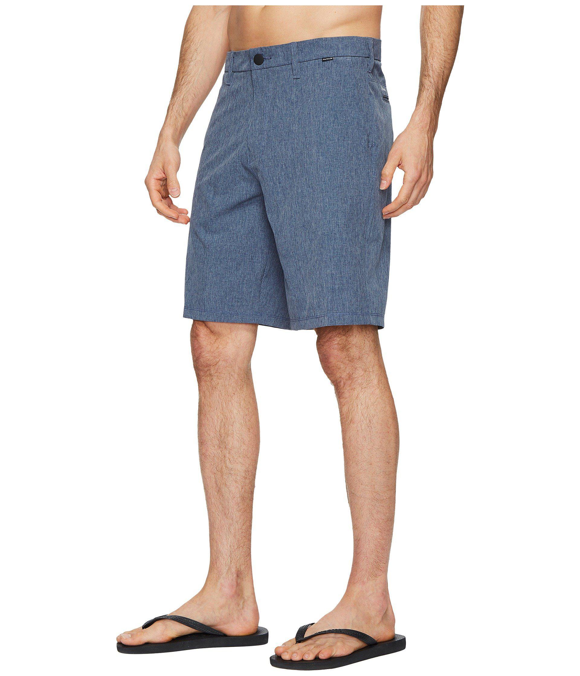 b6b769f602d1 Lyst - Hurley Phantom Hybrid Walkshorts (black) Men s Shorts in Blue for Men