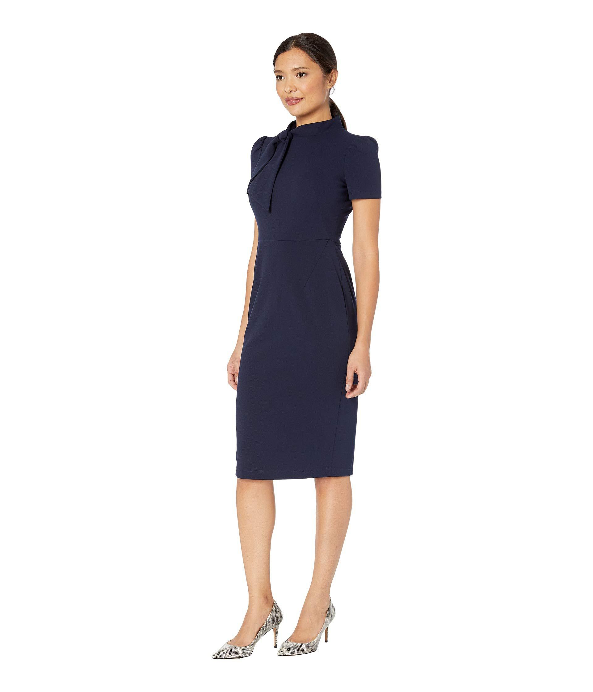 Lyst - Maggy London Margo Midi in Blue - Save 20% 62c2c1d3c