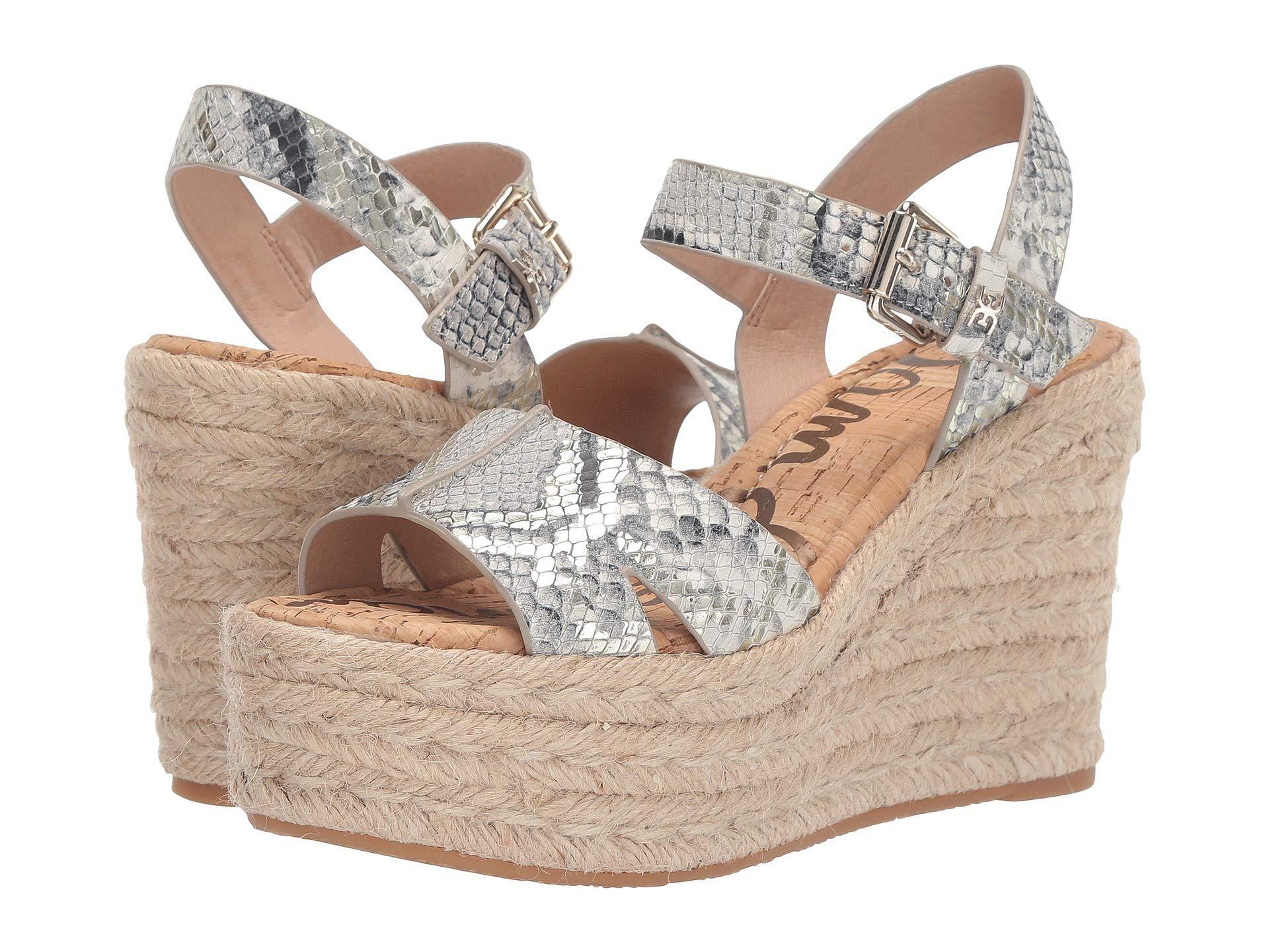 5c00c6dd202 Sam Edelman. Maura (black white Multi Bahamas Metallic Snake Leather) Women s  Shoes