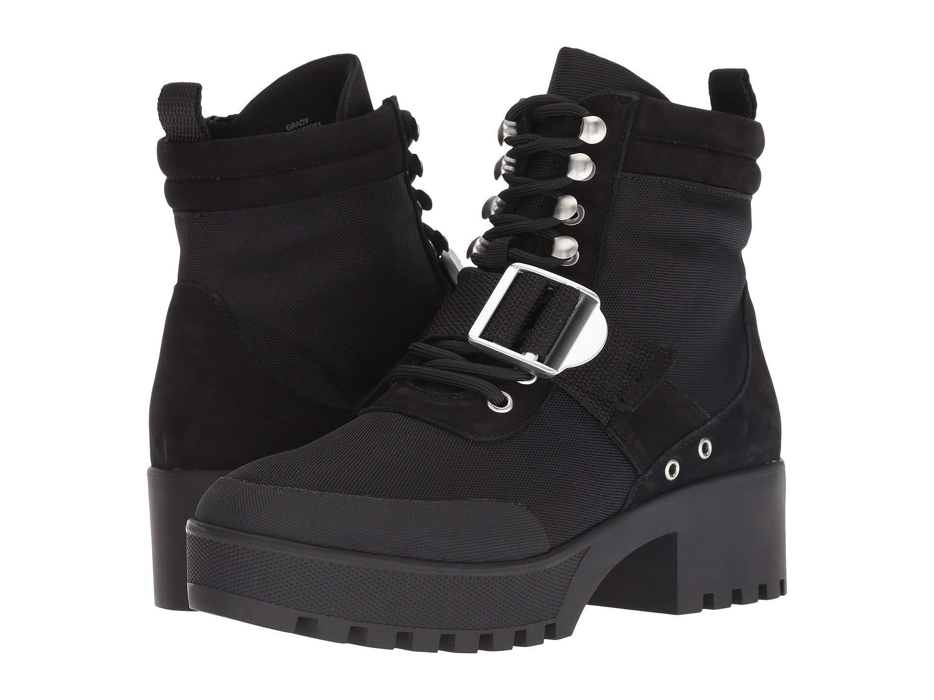 d7bf7393375 Lyst - Steve Madden Grady Hiker Boot (black Multi) Women s Lace-up ...