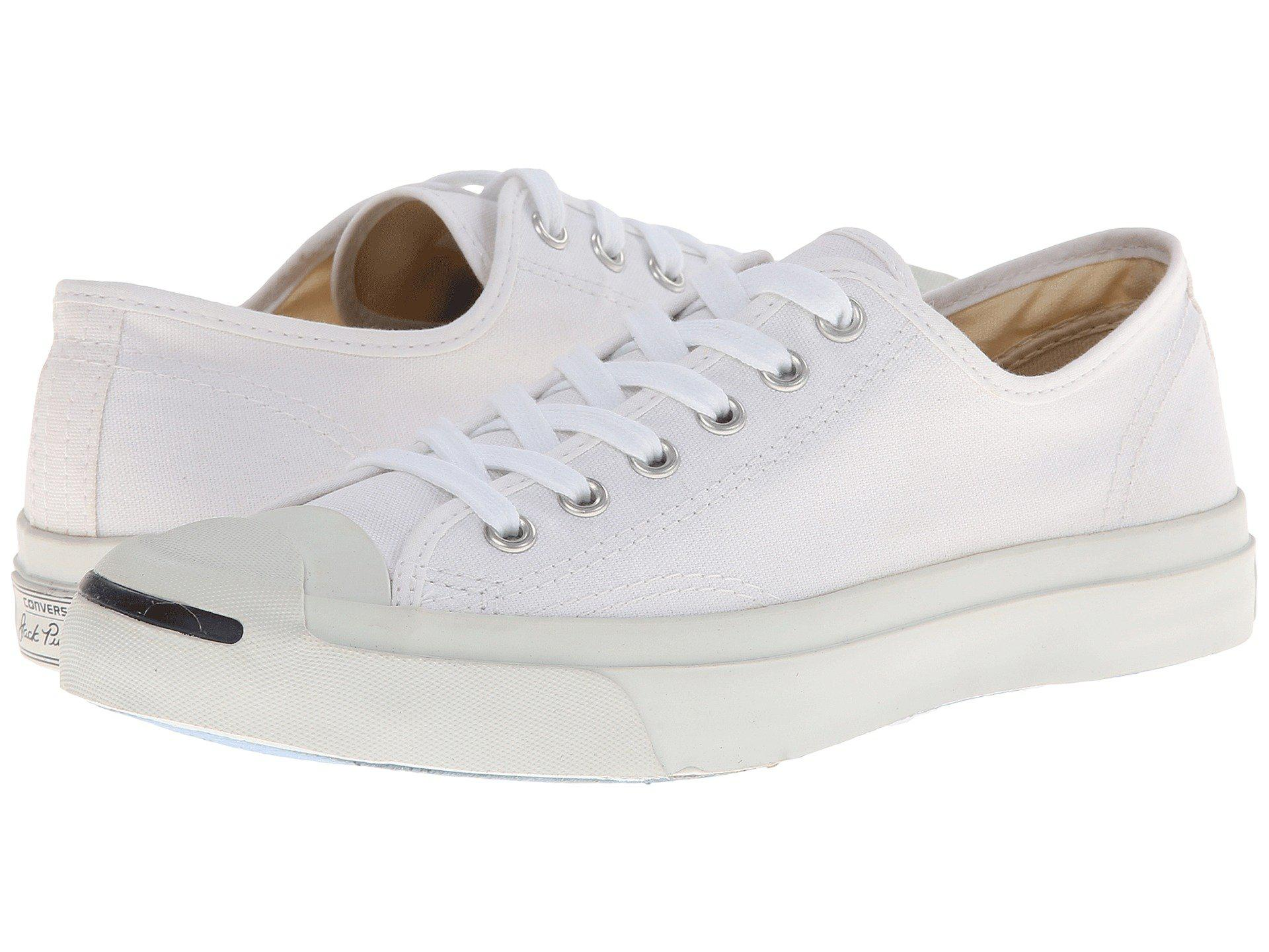 a6dcf3c335fa Lyst - Converse Jack Purcell(r) Cp Canvas Low Top (white white ...
