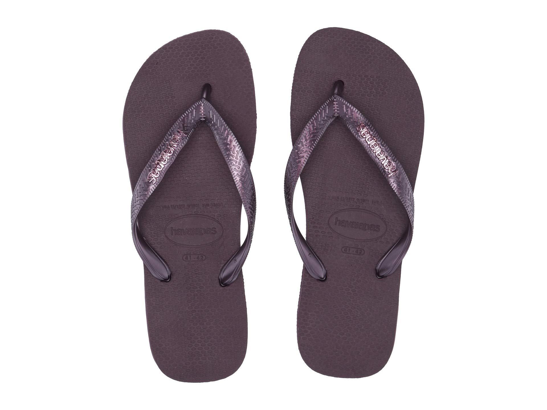 6857cacd1 Havaianas - Purple You Maxi Sandal (dark Khaki) Women s Sandals - Lyst.  View fullscreen