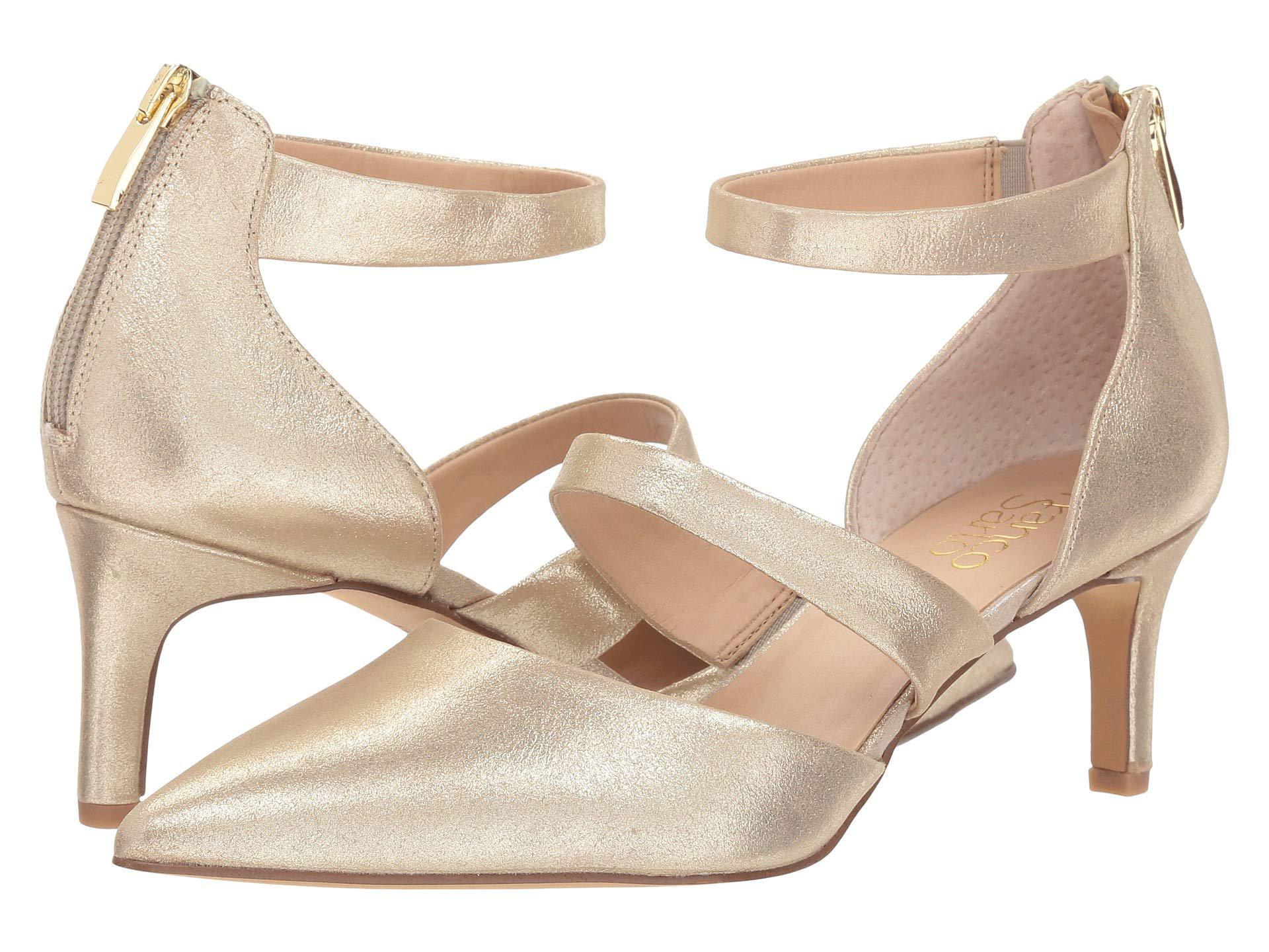 cfcfc15317c Lyst - Franco Sarto Davey (lapis Blue Diva Suede metallic) Women s Shoes