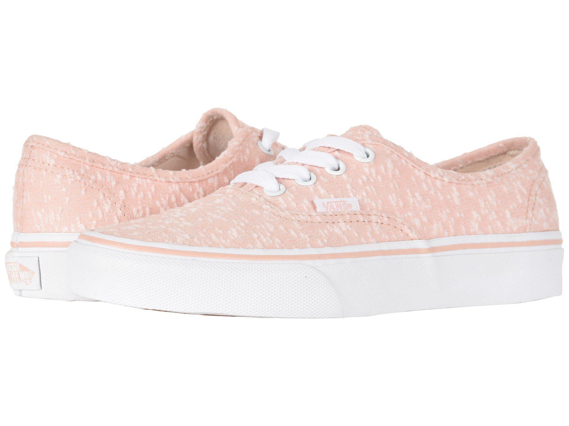 83a9235babb Women s Pink Authentictm ((pig Suede) Darkest Spruce true White) Skate Shoes