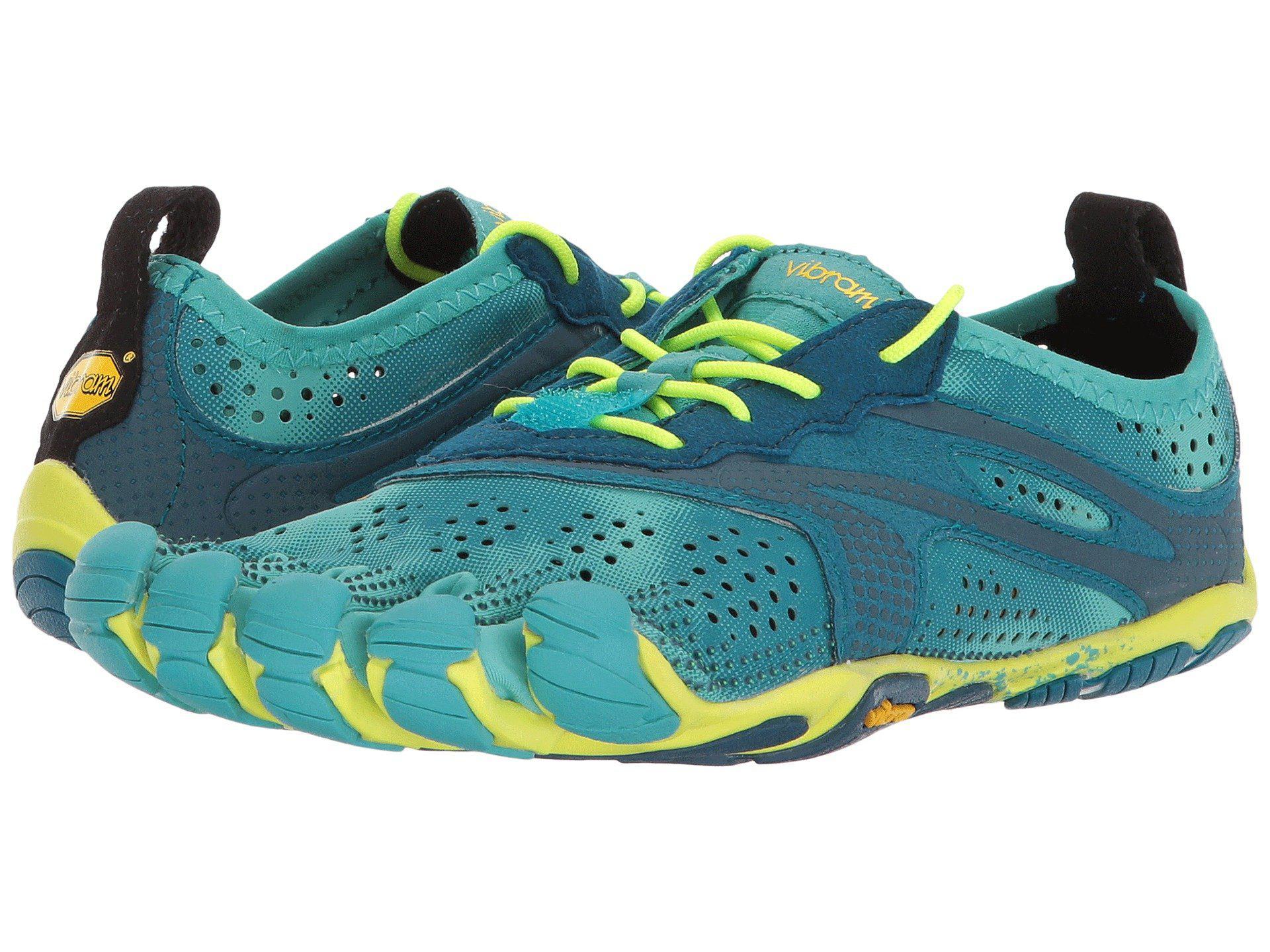 new arrival 519da 68678 Vibram Fivefingers V-run (teal navy) Women s Shoes in Blue - Lyst