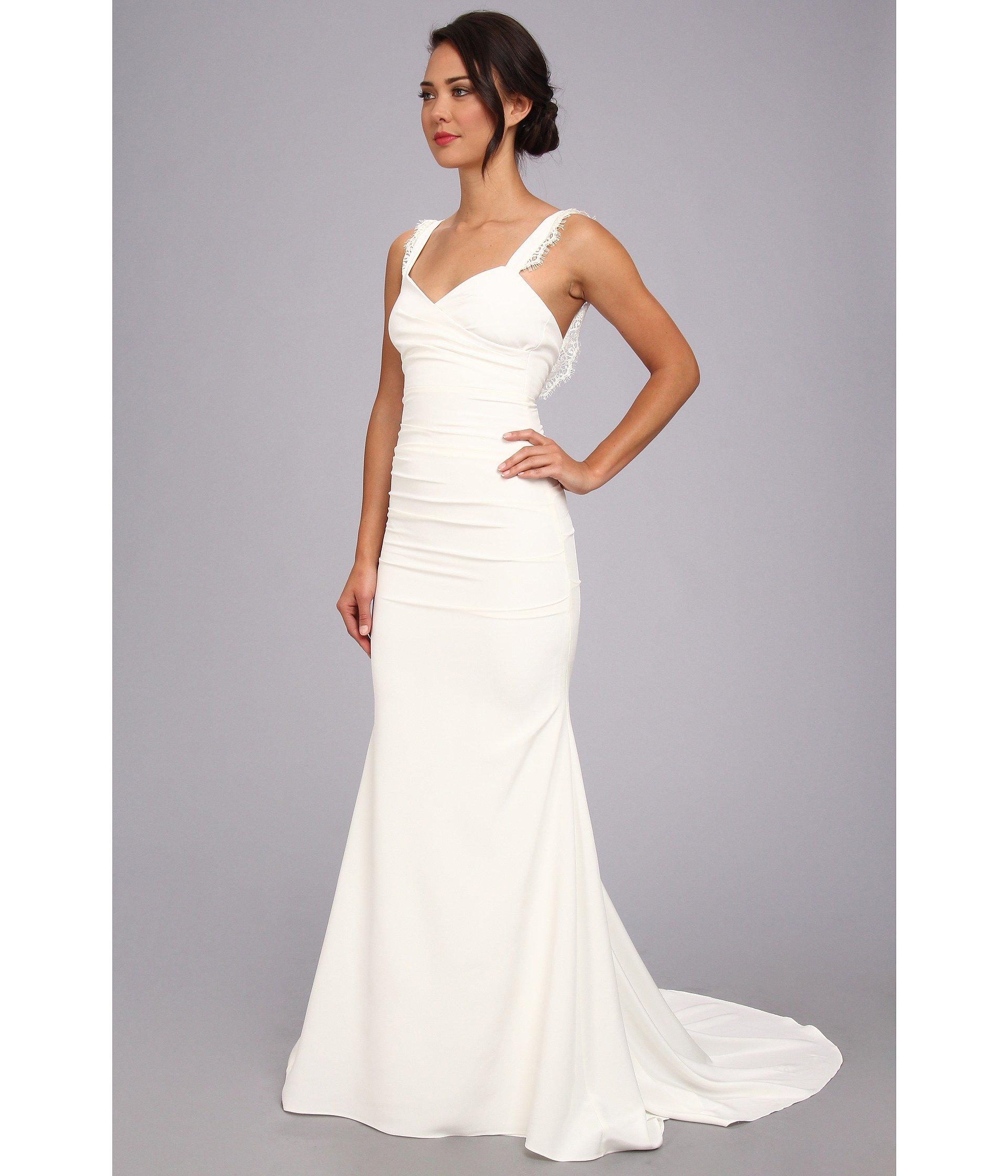 Perfect Nicole Miller Kimberly Bridal Gown Embellishment - Best ...