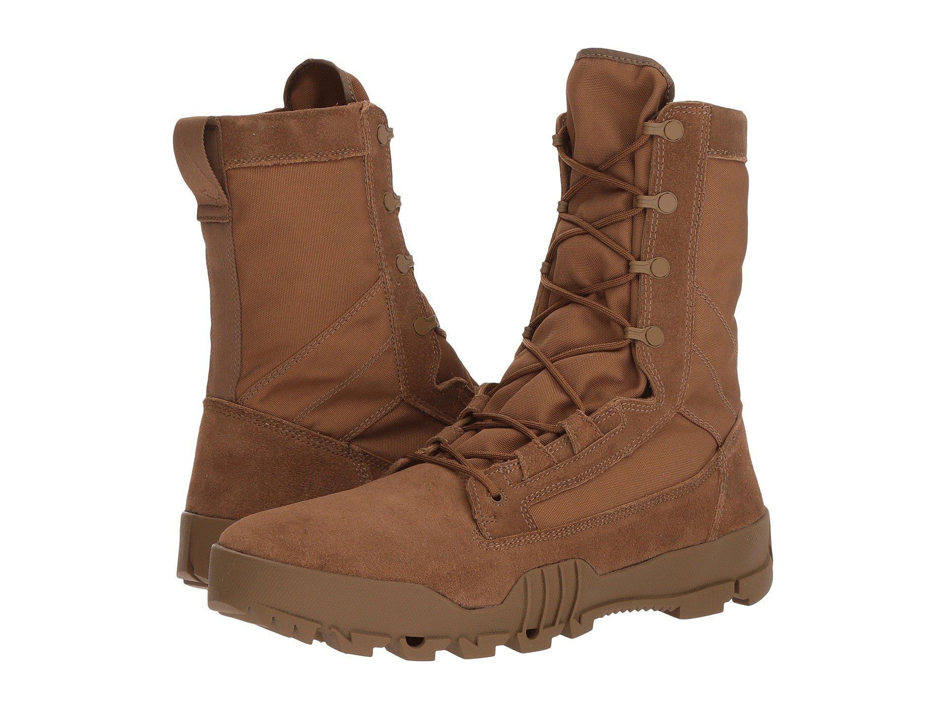 brand new 1f1fd bb97e Lyst - Nike Sfb Jungle 8 Leather Boot (coyotecoyote) Mens Bo