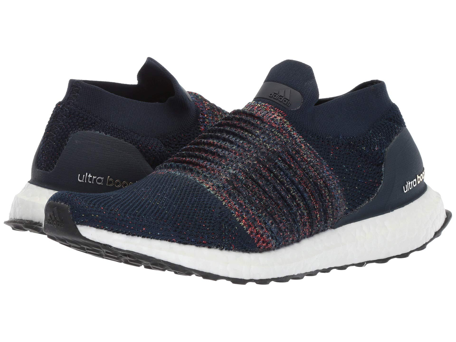 b058debd22eb9c adidas Originals. Blue Ultraboost Laceless (collegiate Navy white black) Men s  Running Shoes