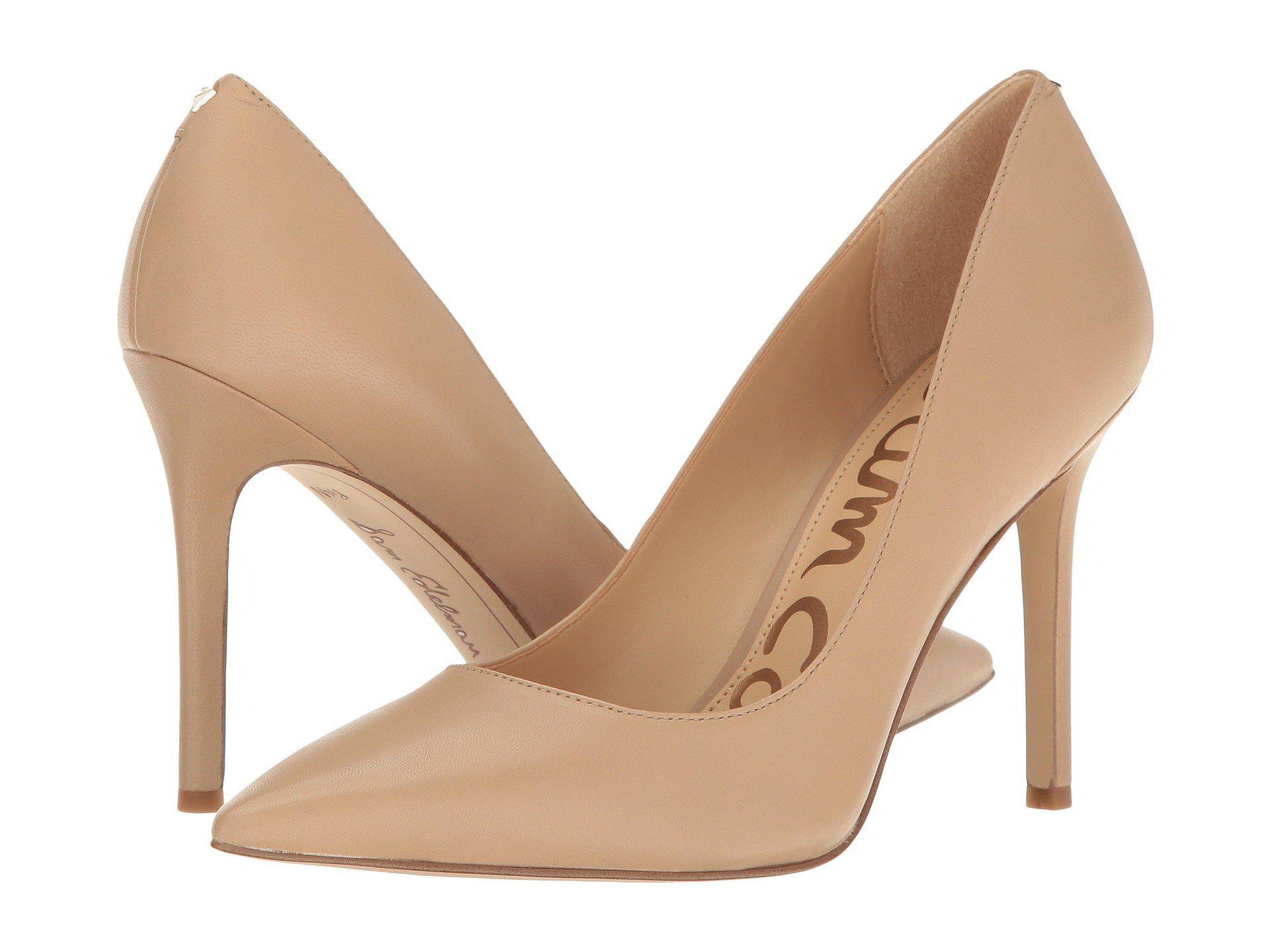 ae378e4cf22b Lyst - Sam Edelman Danna (classic Nude Patent) Women s Shoes in ...