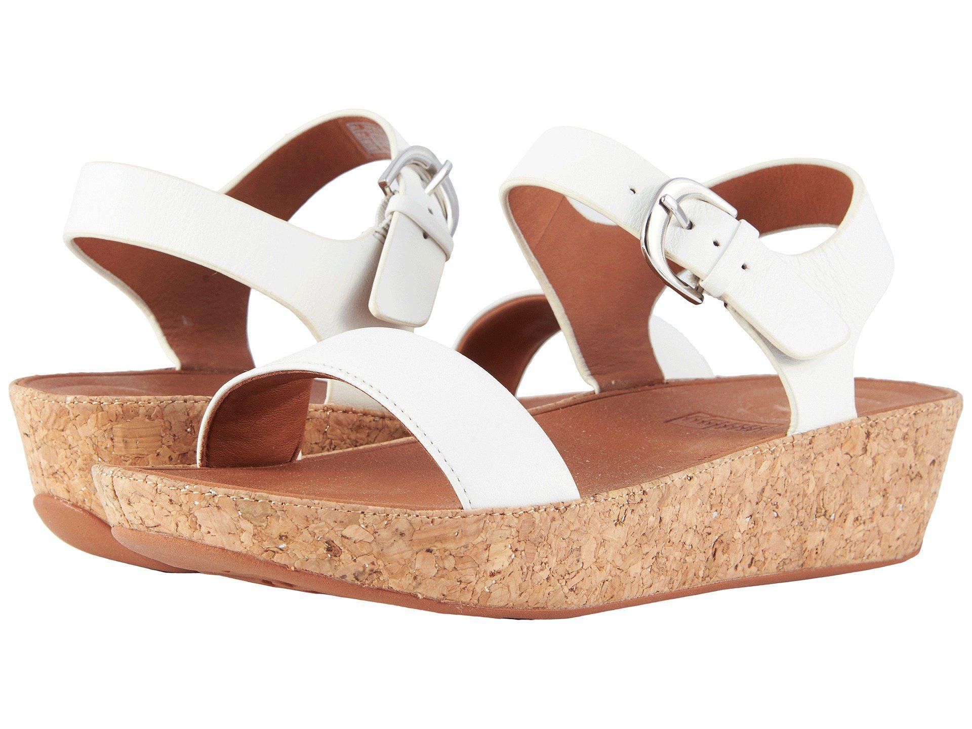 Womens Bon Ii Back-Strap Iridescent Open Toe Sandals FitFlop OgsLi5v5gZ