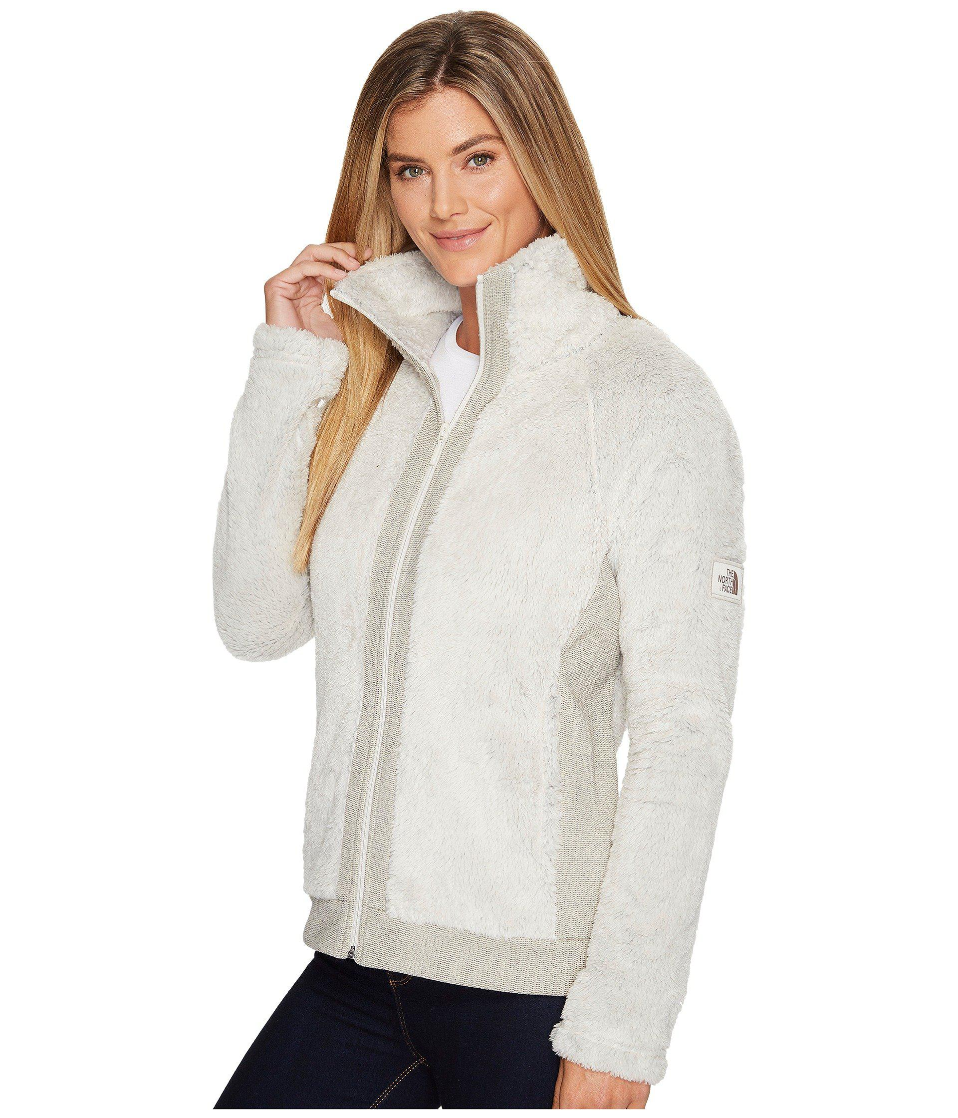 Lyst The North Face Furry Fleece Jacket In White