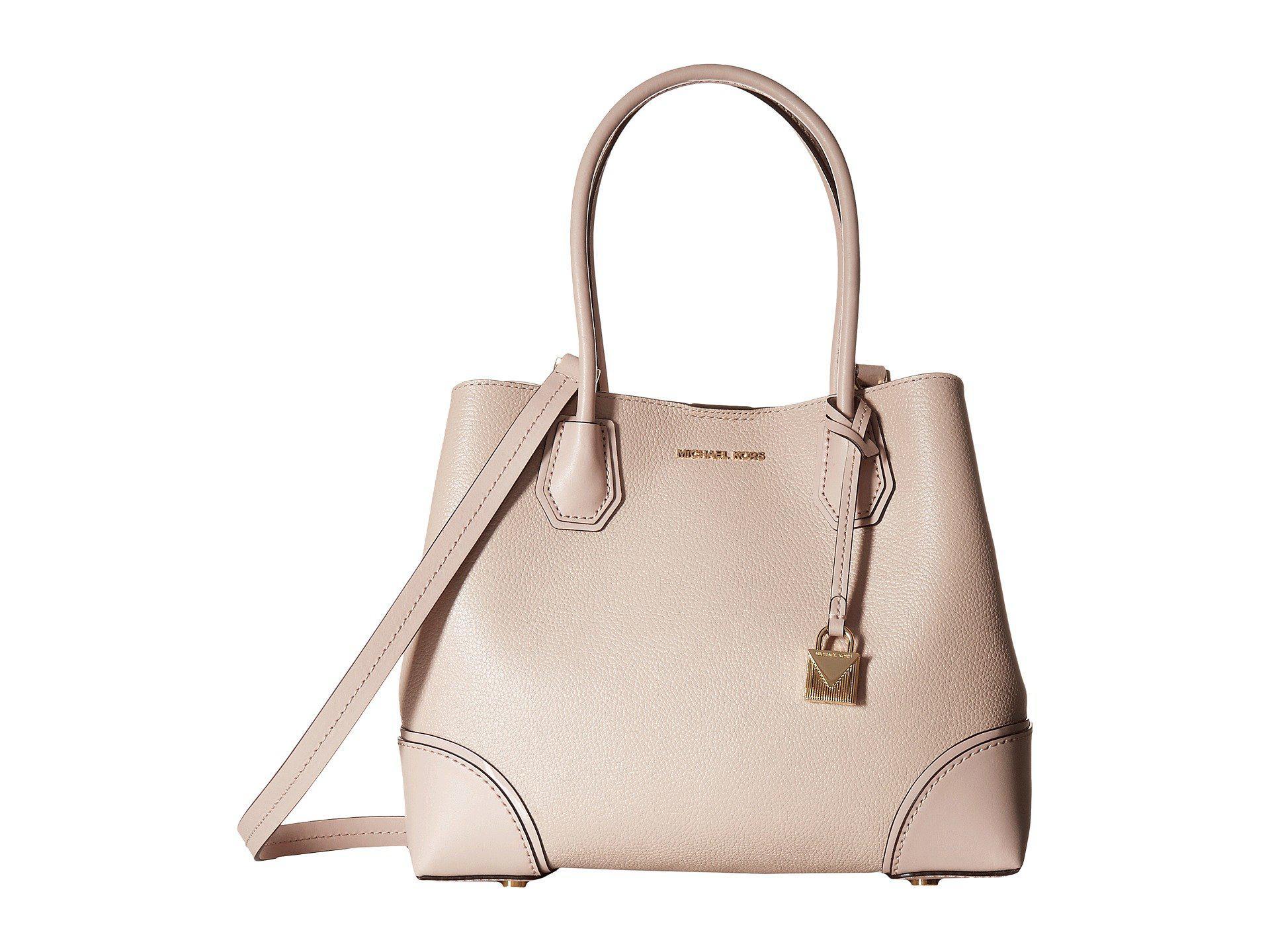 MICHAEL Michael Kors. Women s Pink Mercer Gallery Medium Center Zip Tote  (black) Tote Handbags 74e1a7fc19